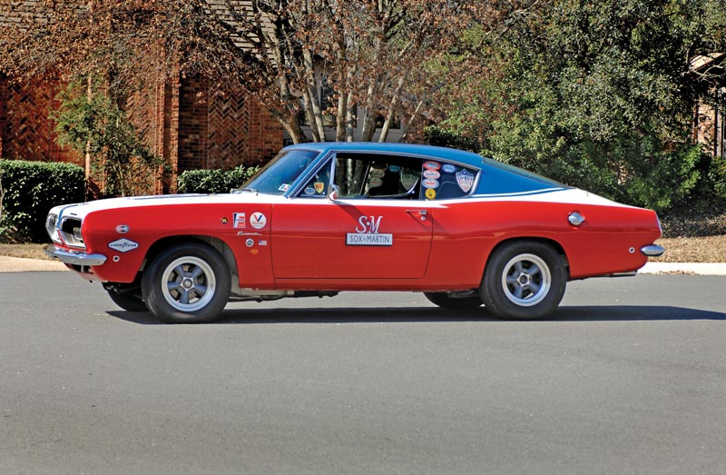 1968 Plymouth Barracuda S Sox & Martin Race Car