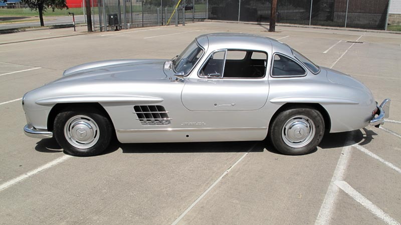 1955 Mercedes-Benz Gullwing 'Ostermeier'