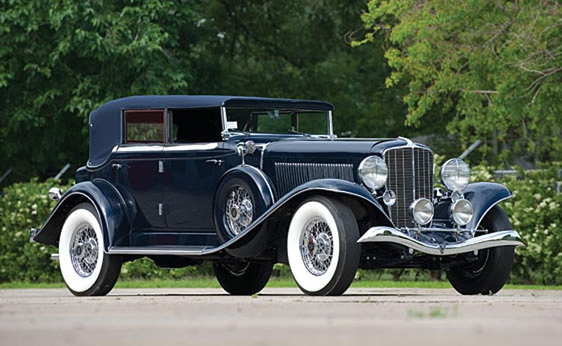 1933 Auburn Twelve Salon Phaeton