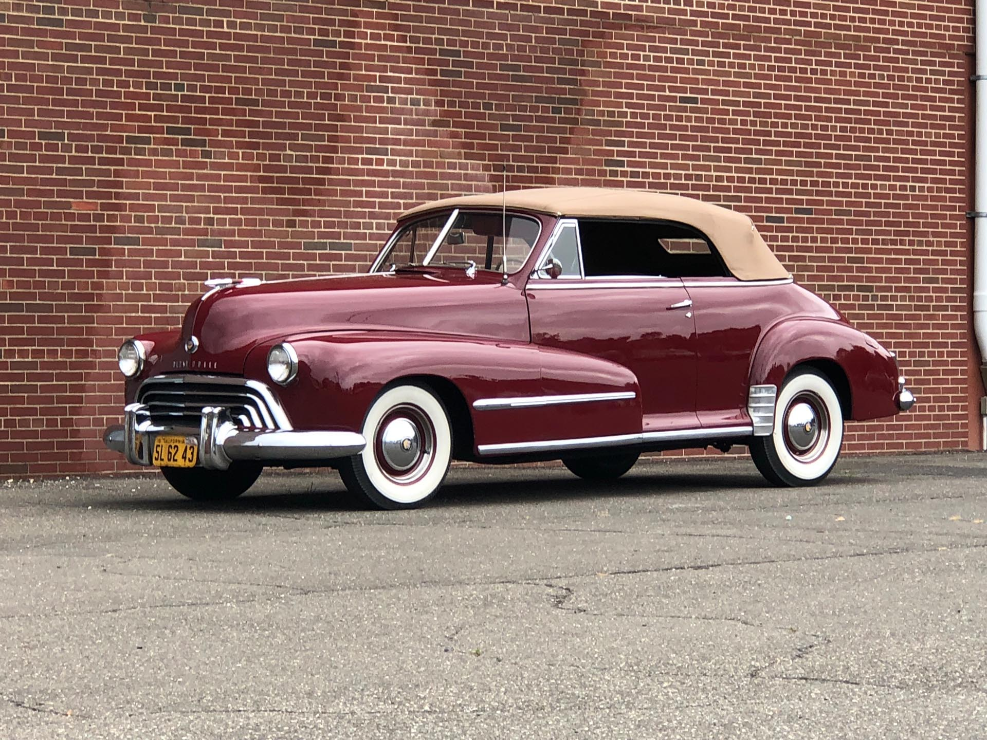 1948 Oldsmobile Series 68 Convertible Coupe