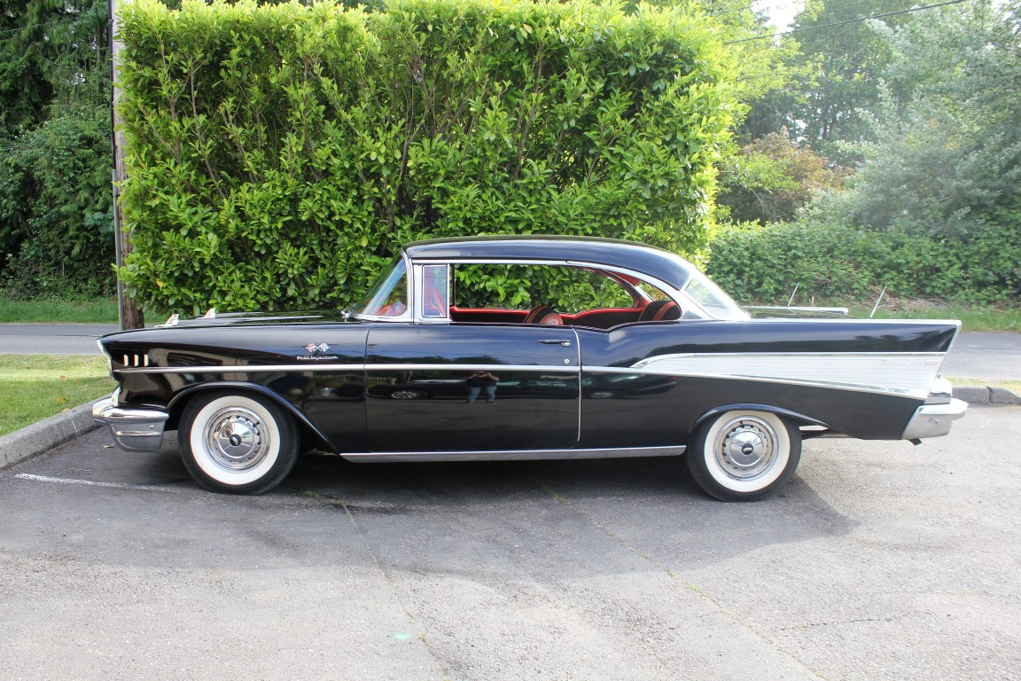 1957 Chevrolet  Bel Air Fuel-Injected Sport Coupe