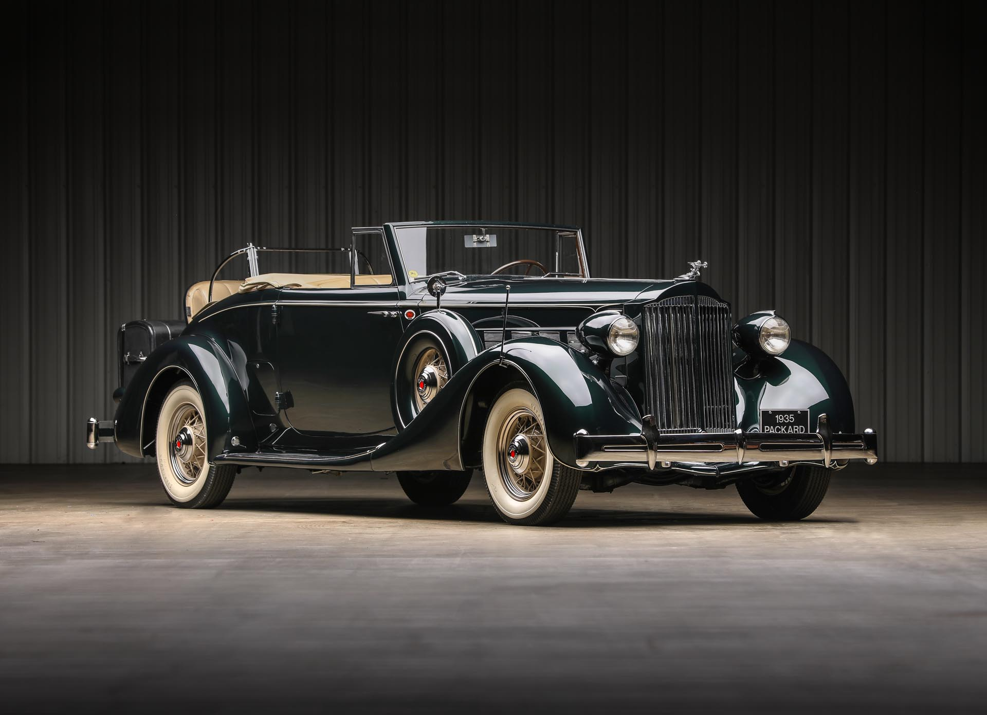 1935 Packard 1204 Super Eight Coupe Roadster