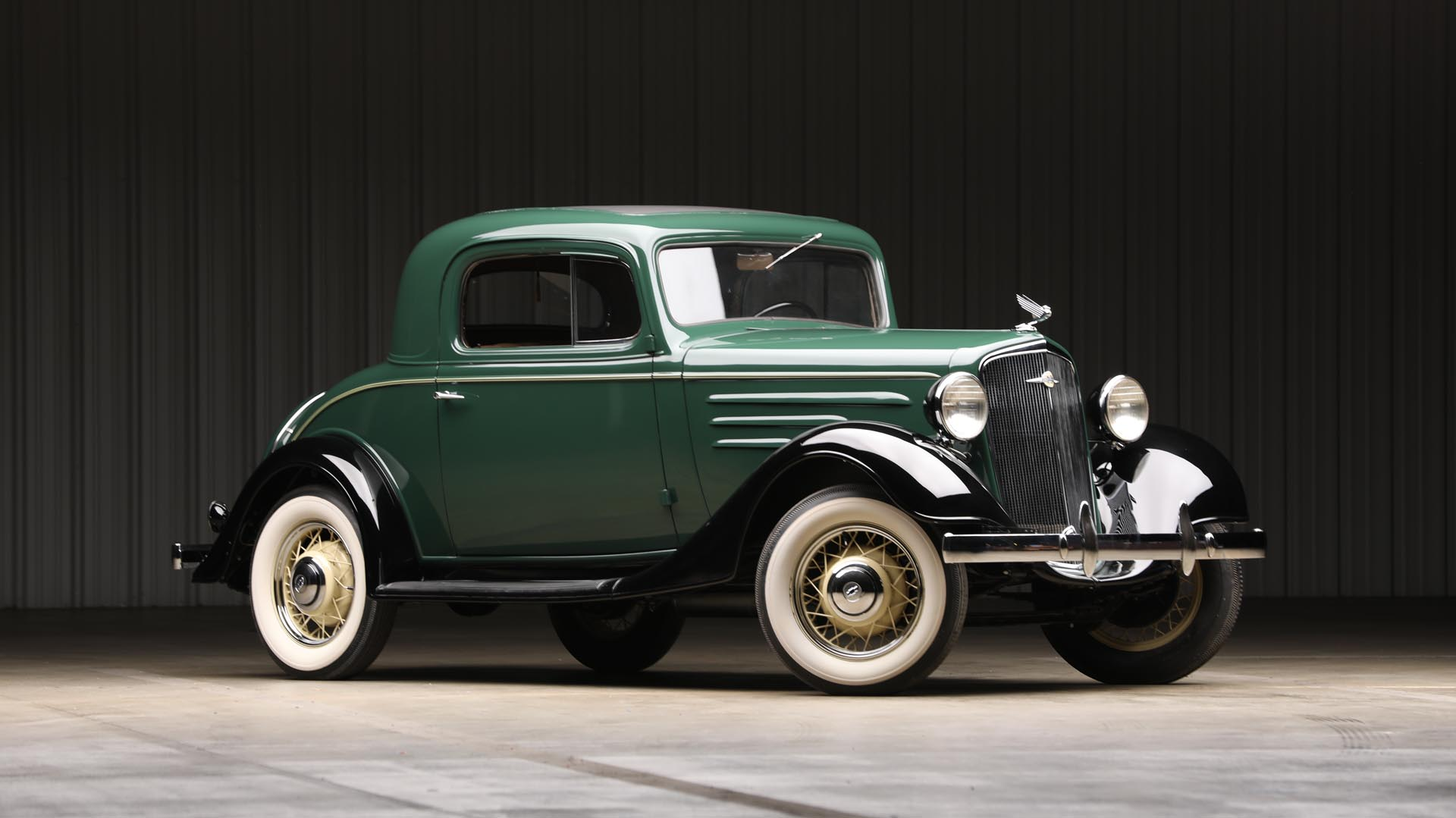 1935 Chevrolet  Standard 'Three-Window' Coupe