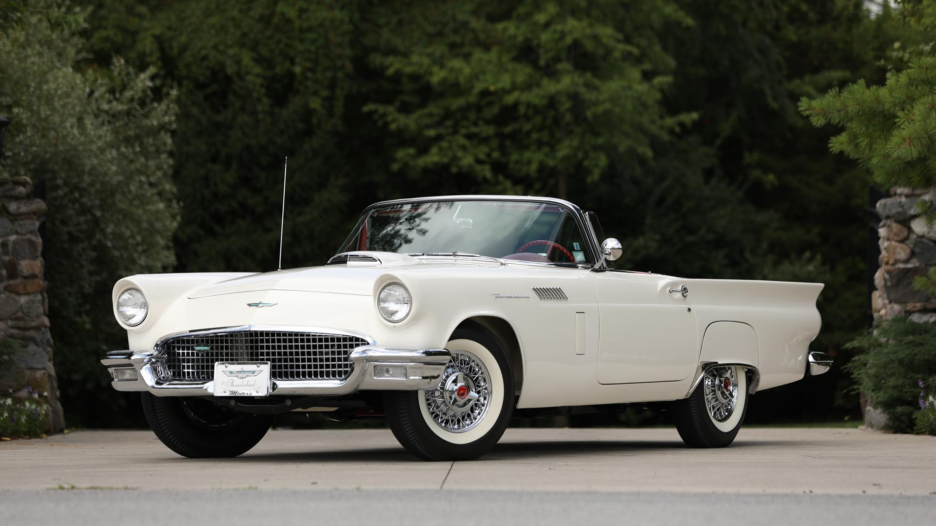 1957 Ford Thunderbird 'E Code' Convertible