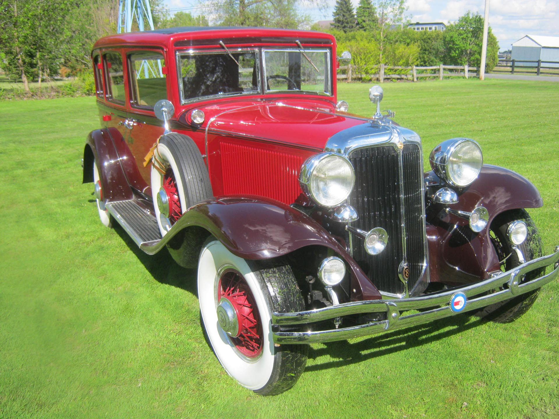 1931 Chrysler  Deluxe CD Touring Sedan