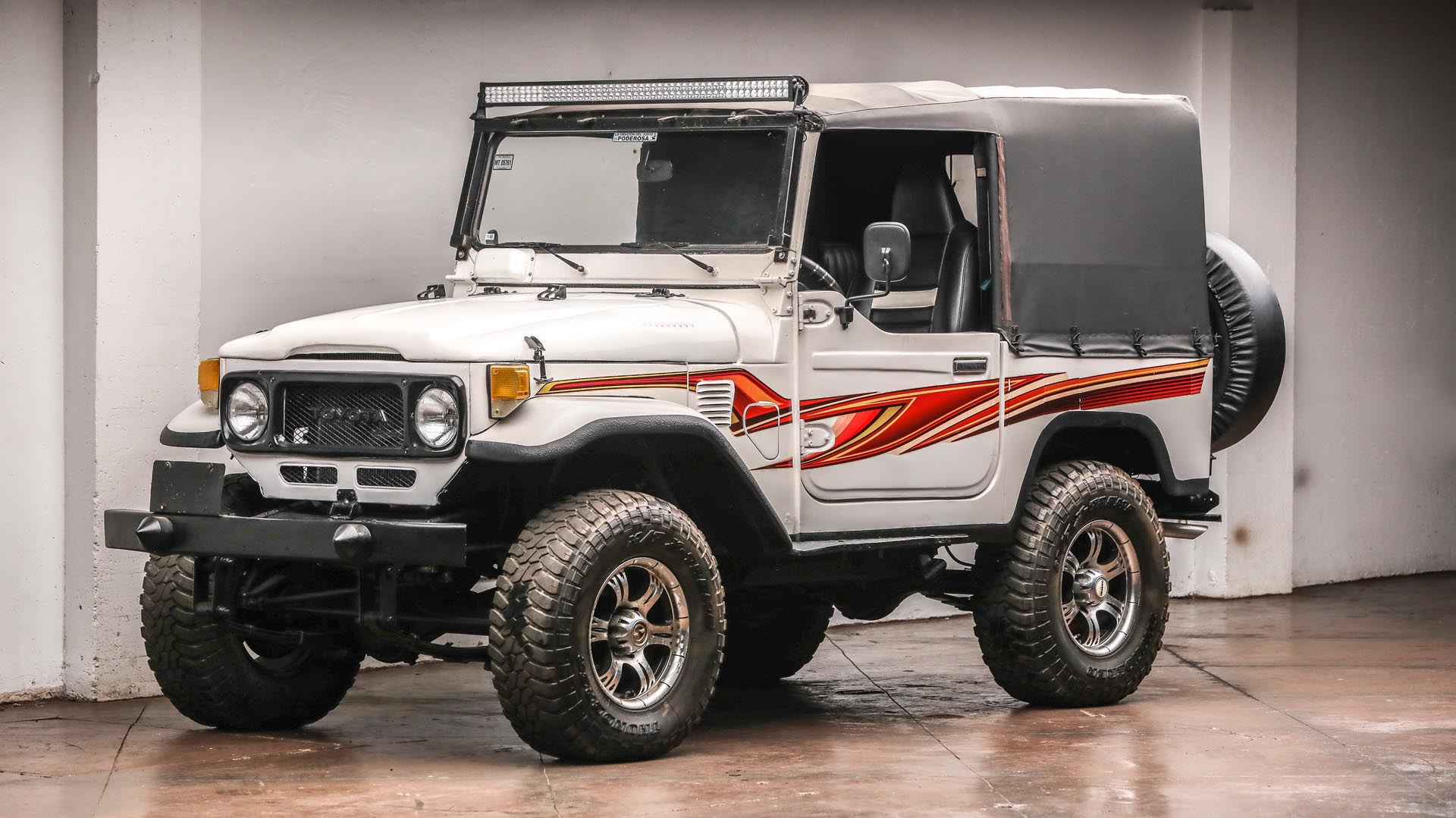 1984 Toyota BJ40 Land Cruiser