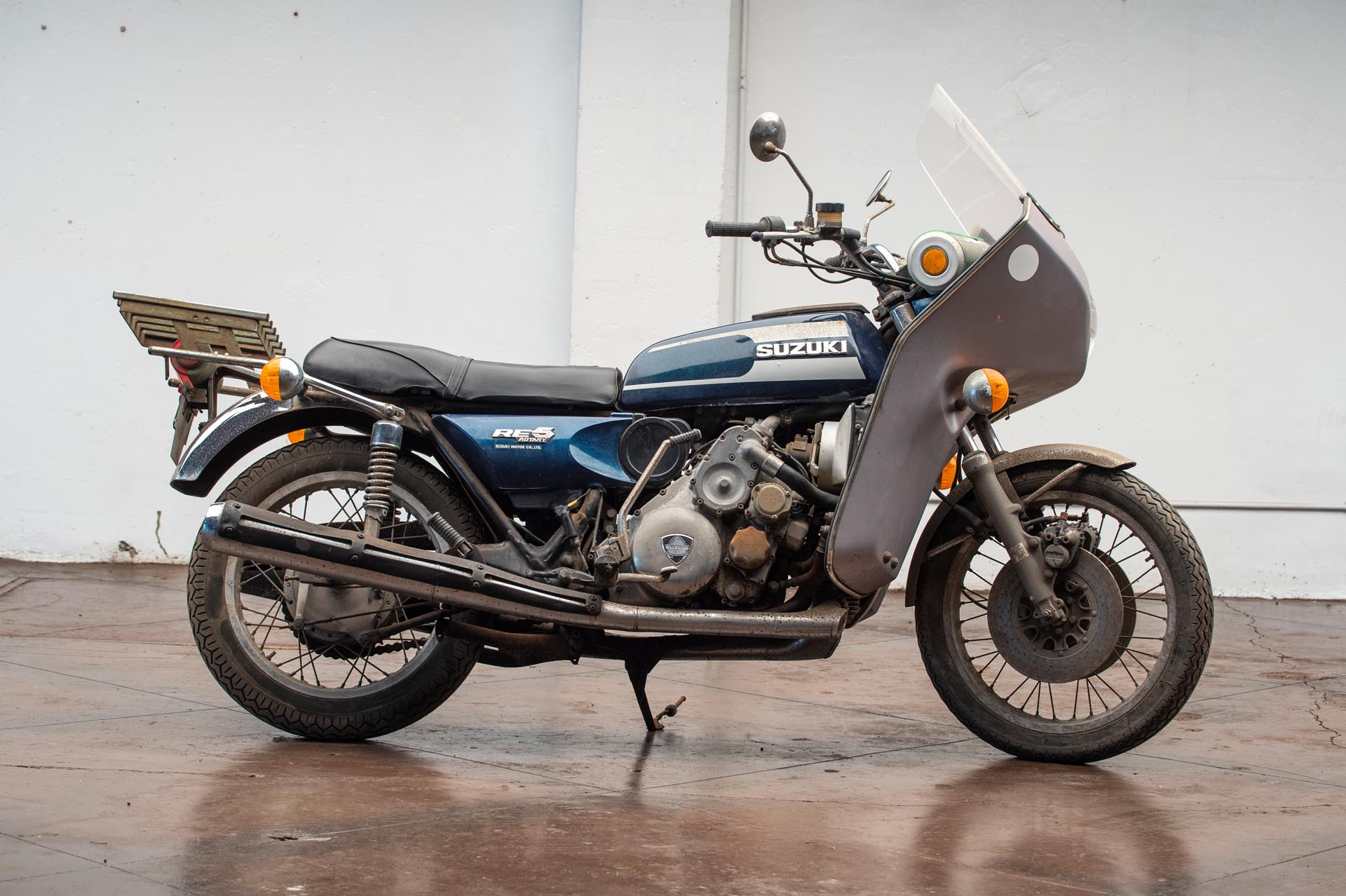 1974 Suzuki RE-5 Motorcycle