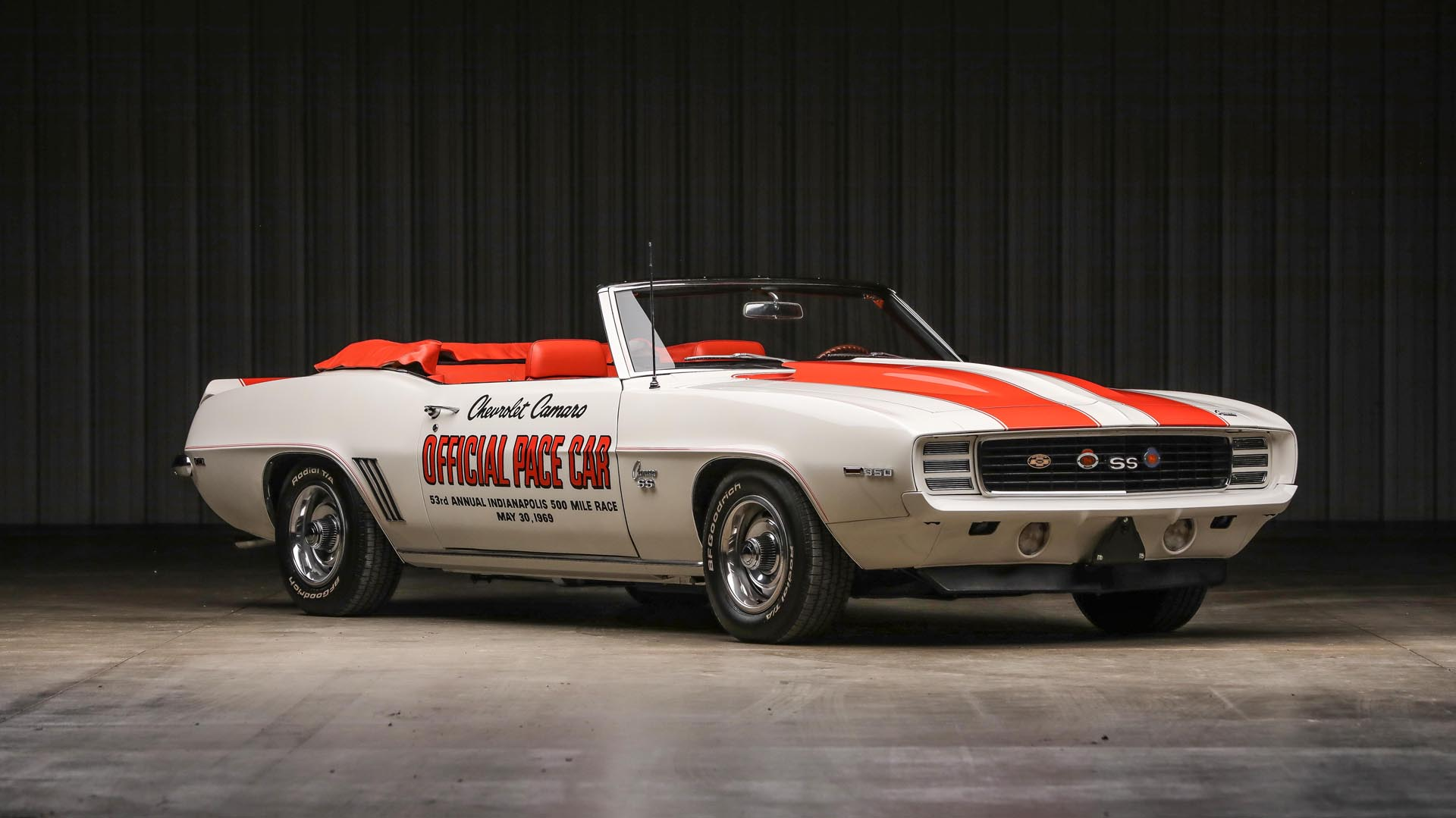 1969 Chevrolet  Camaro RS/SS Indy 500 Pace Car Convertible