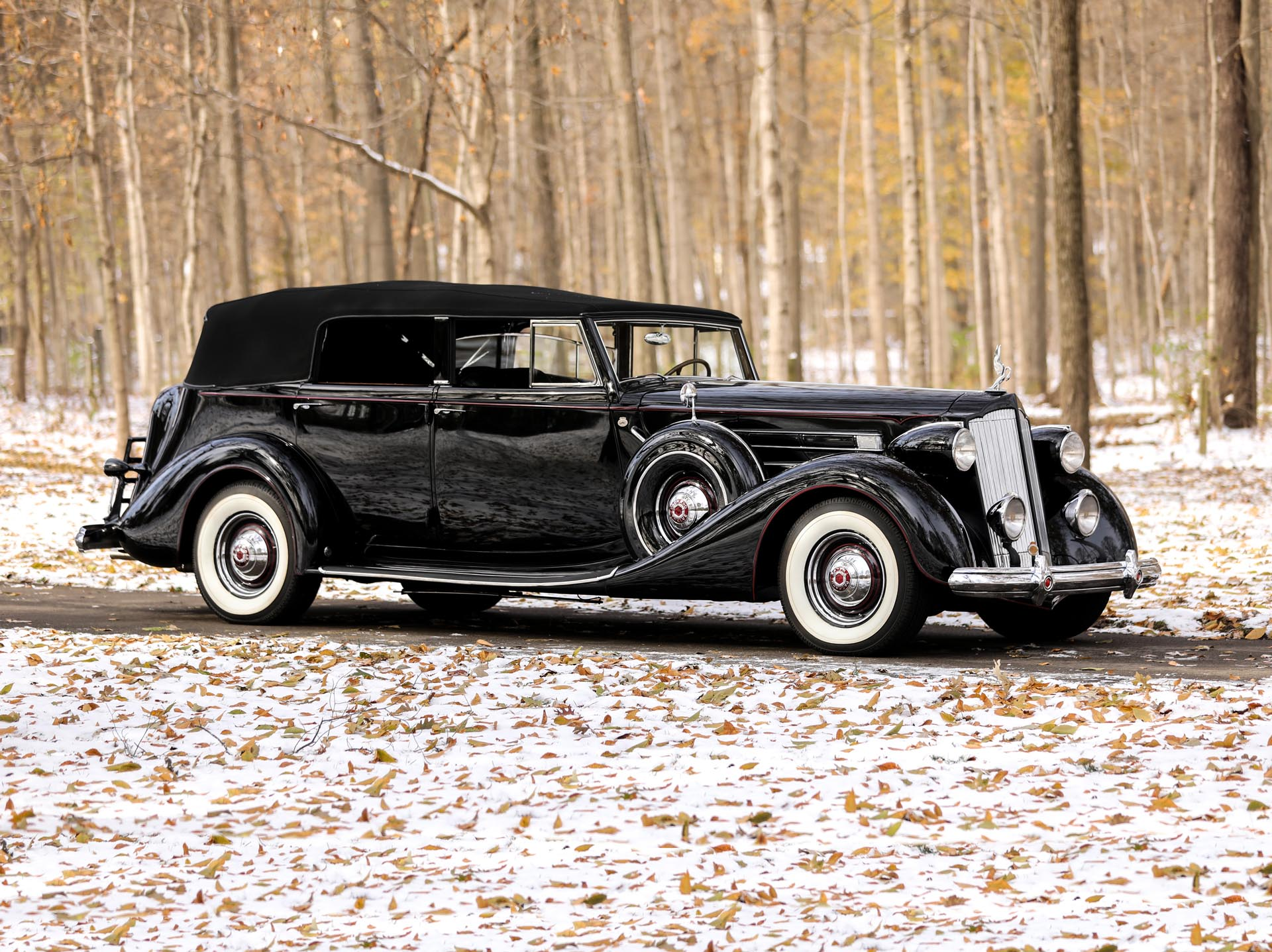 1937 Packard Twelve 1508 Convertible Sedan