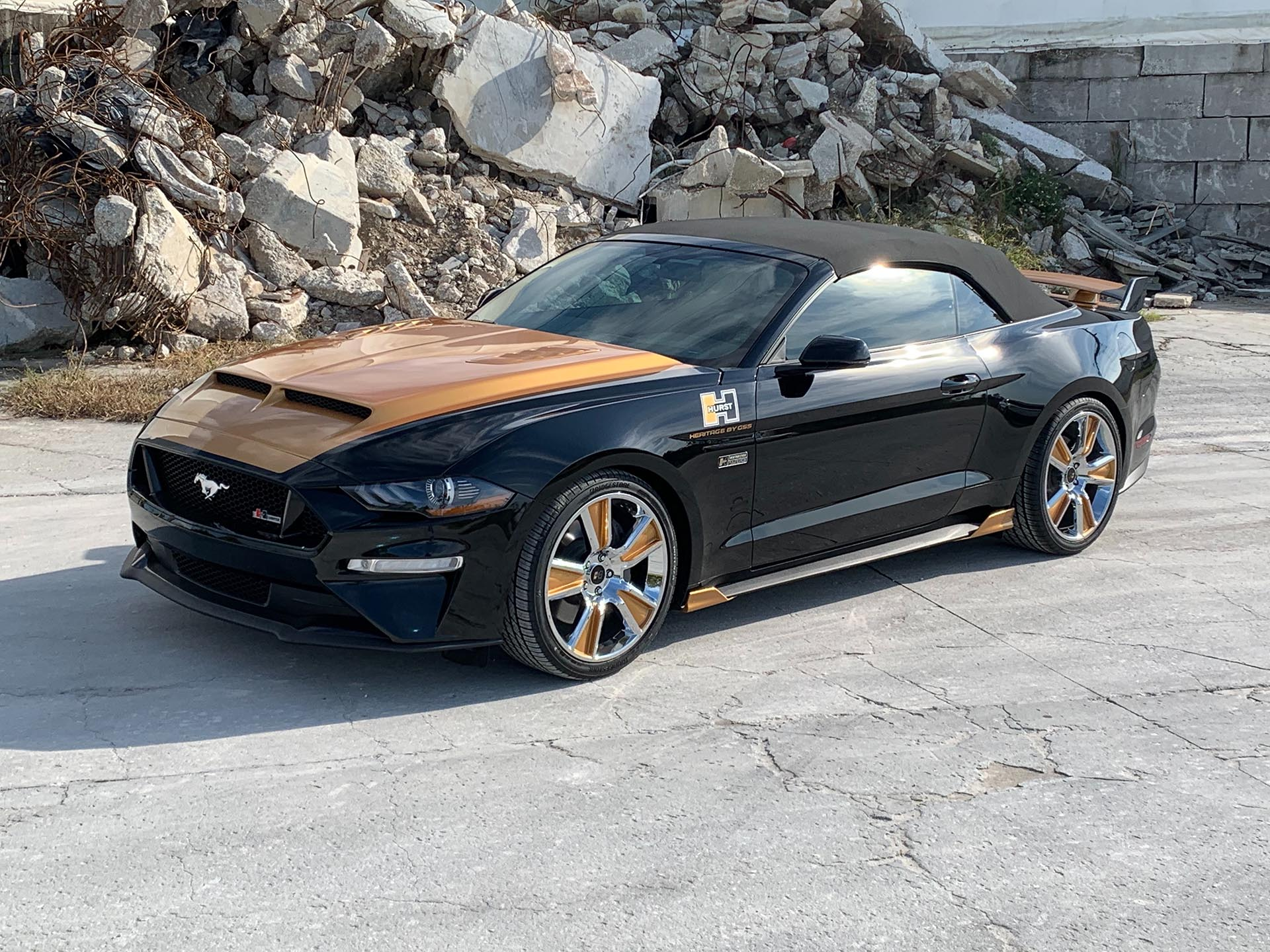 2019 Ford Mustang GT Convertible Hurst Prototype by GSS Supercars
