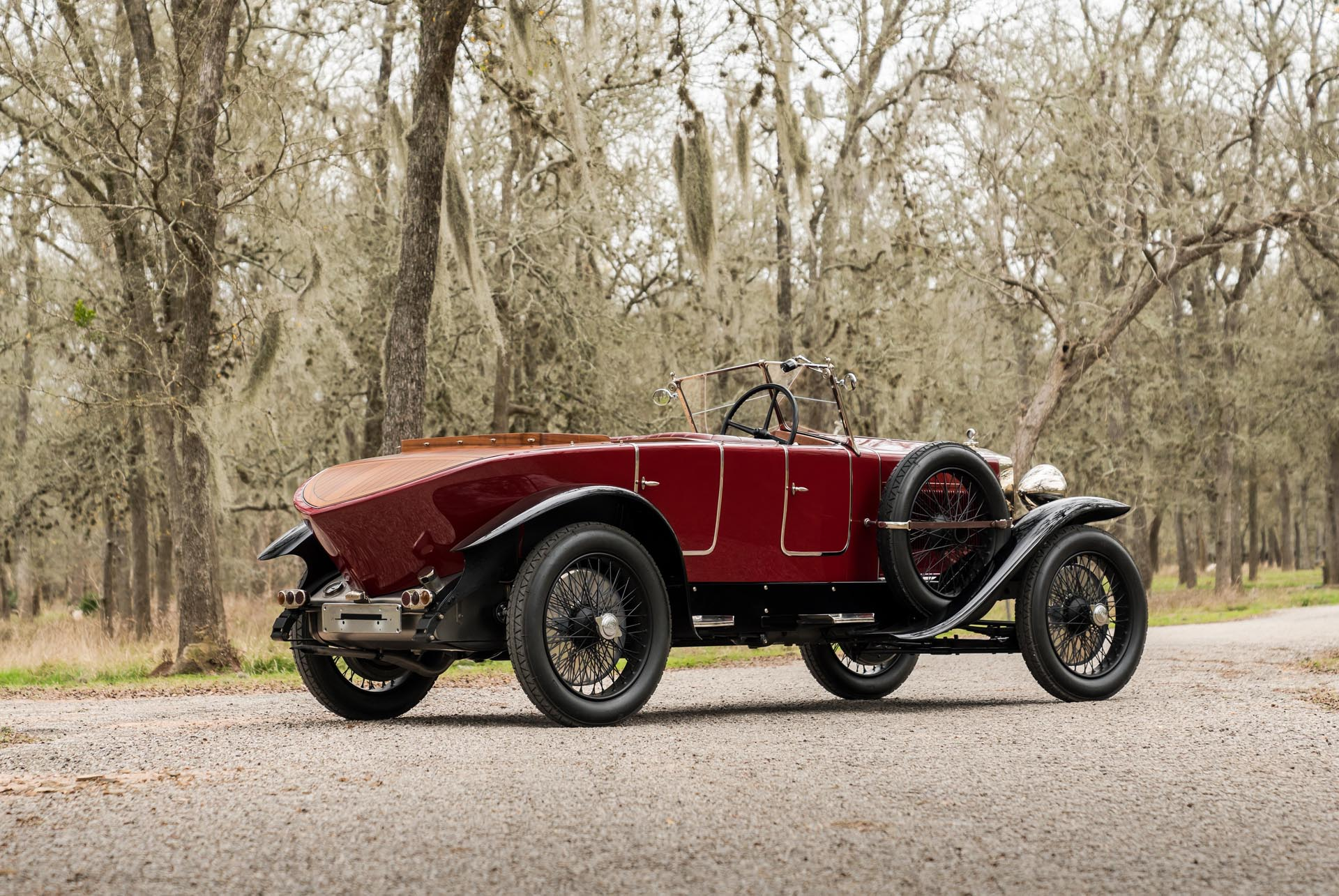 1924 Fiat 519S Torpedo Sport Speciale Convertible