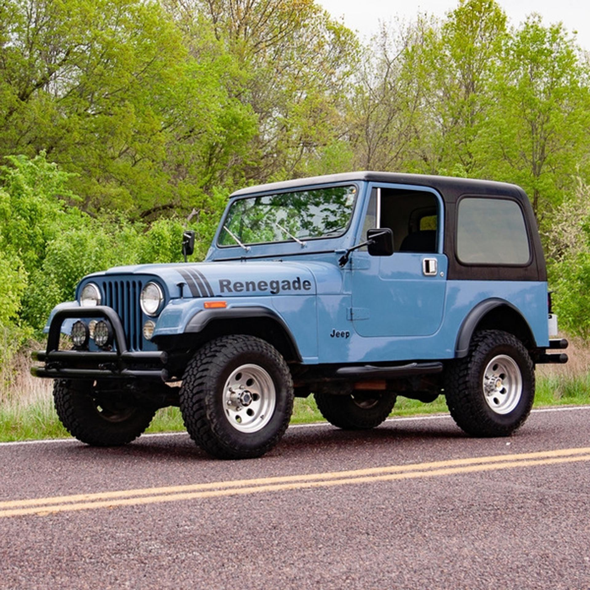 1981 Jeep CJ-7 Renegade SUV