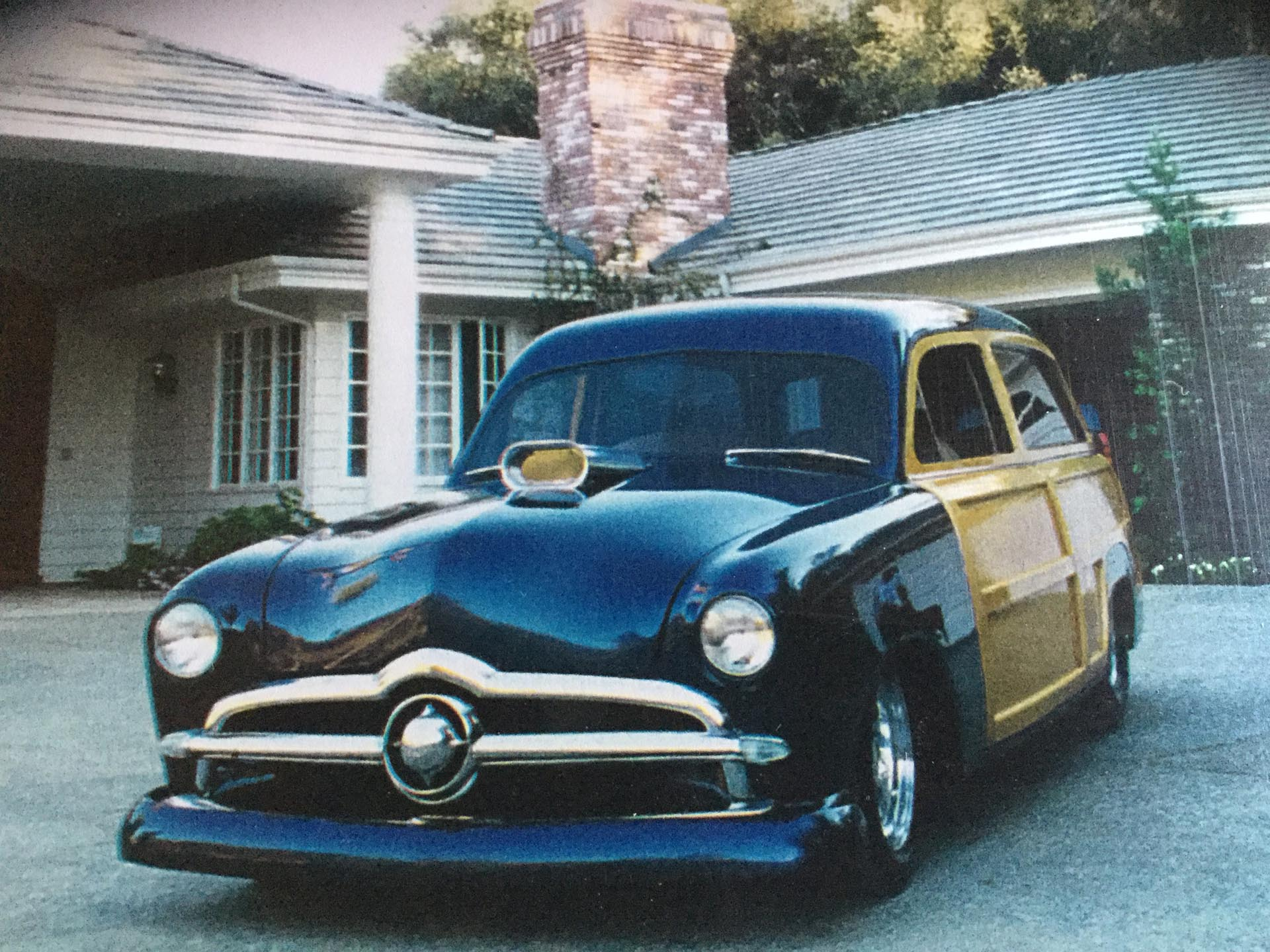 1950 Ford Custom Pro-Street Woodie Wagon