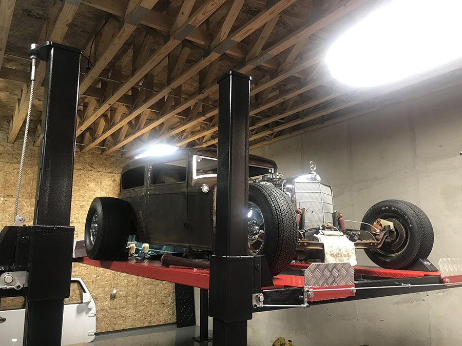 1930 Plymouth Rat Rod Two-Door