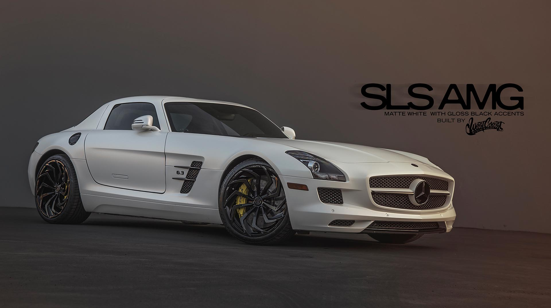 2012 Mercedes-Benz 'Post Malone' SLS Coupe