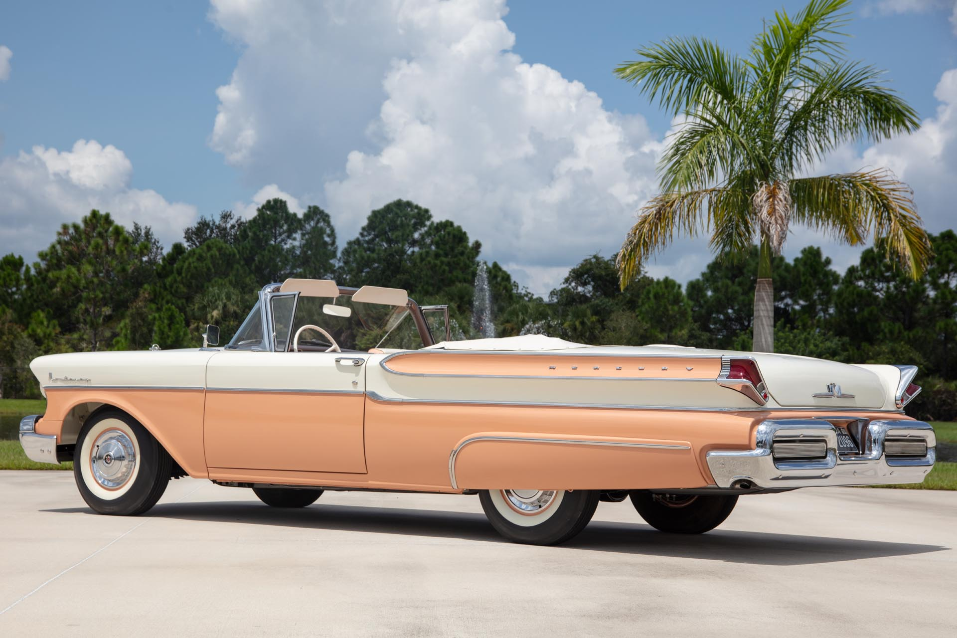 1957 Mercury Monterey Two-Door Convertible