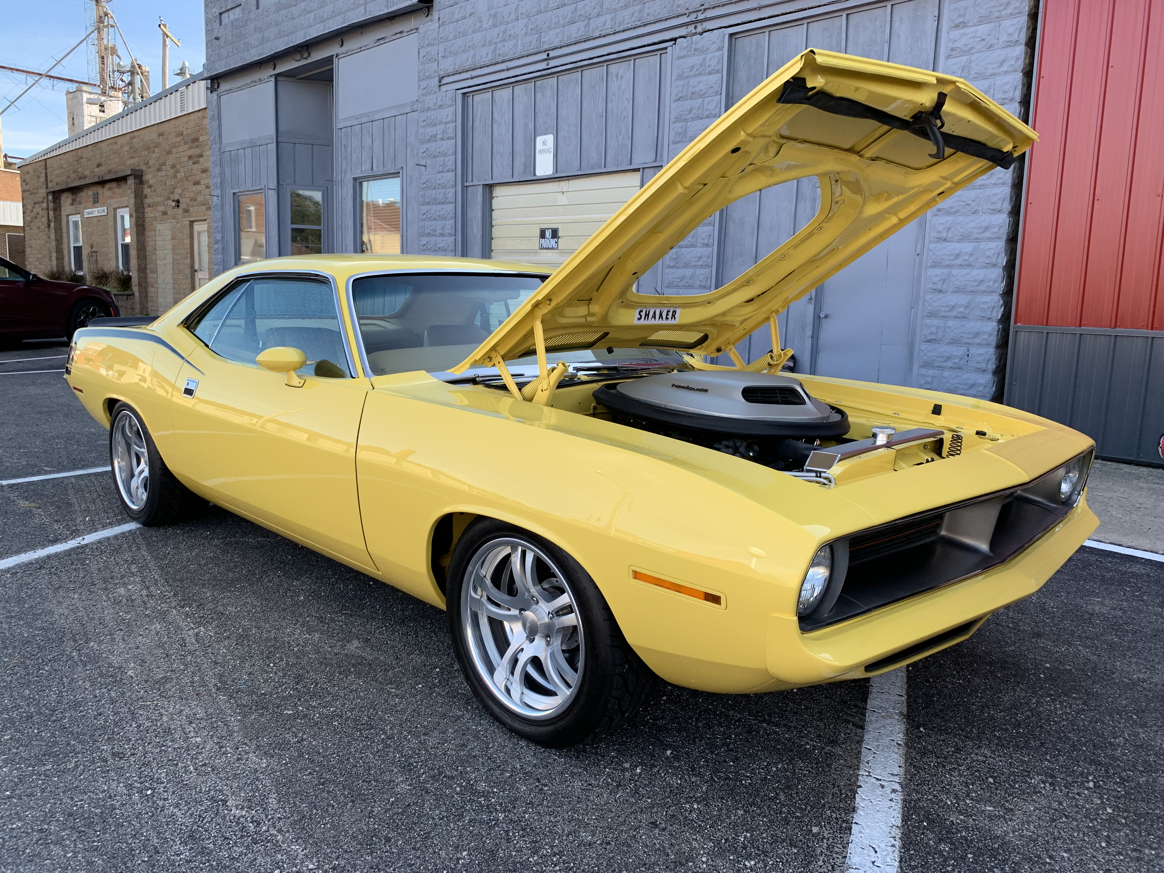 1970 Plymouth 'Cuda Custom Coupe
