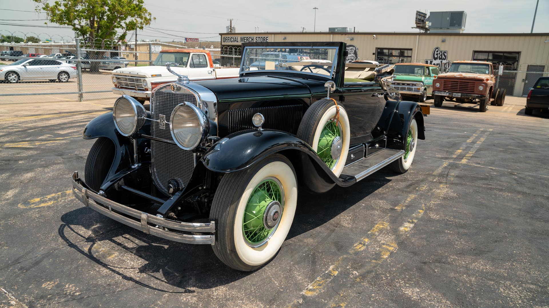 1930 Cadillac  Series 353 Rumble Seat Convertible Coupe