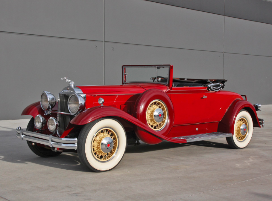 1931 Packard Deluxe 8 Convertible