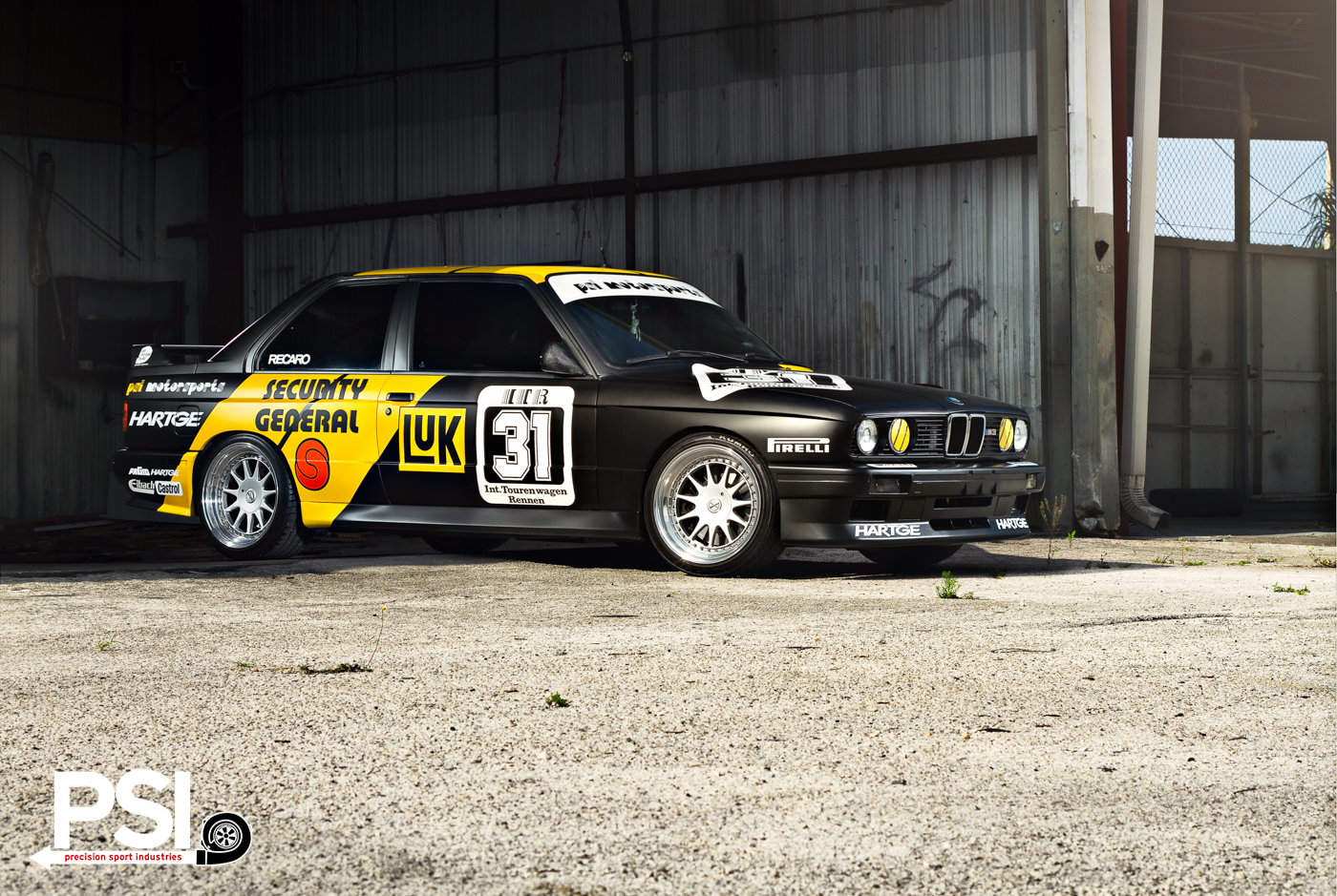 1988 BMW M3 DTM Coupe