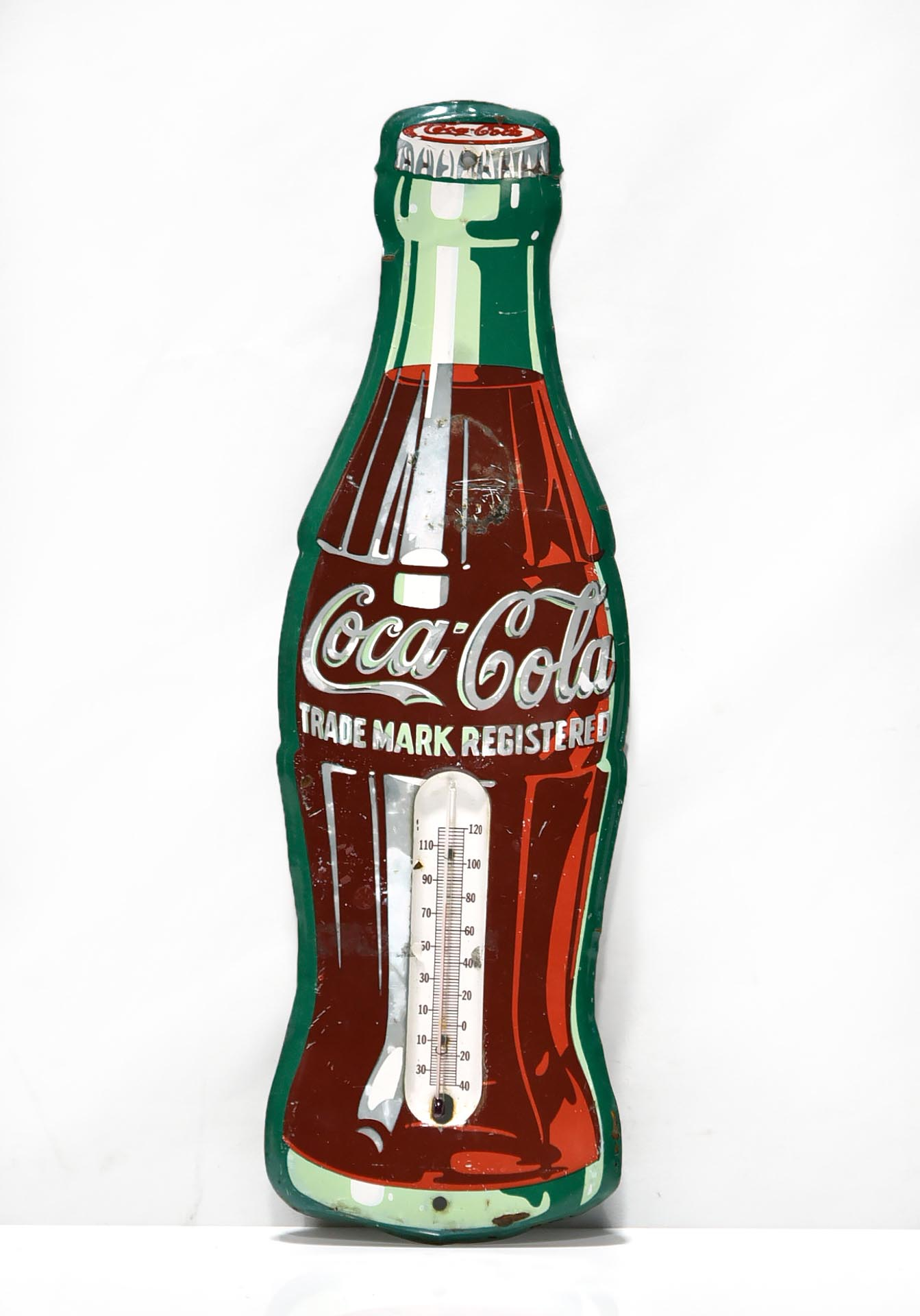Coca-Cola Bottle Advertising Thermometer