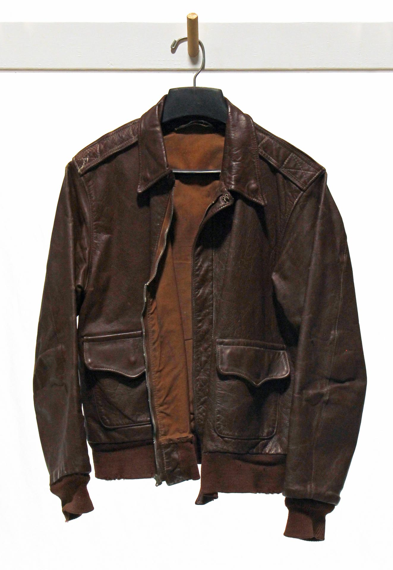 WWII U.S. Army Air Forces Leather Flight Jacket