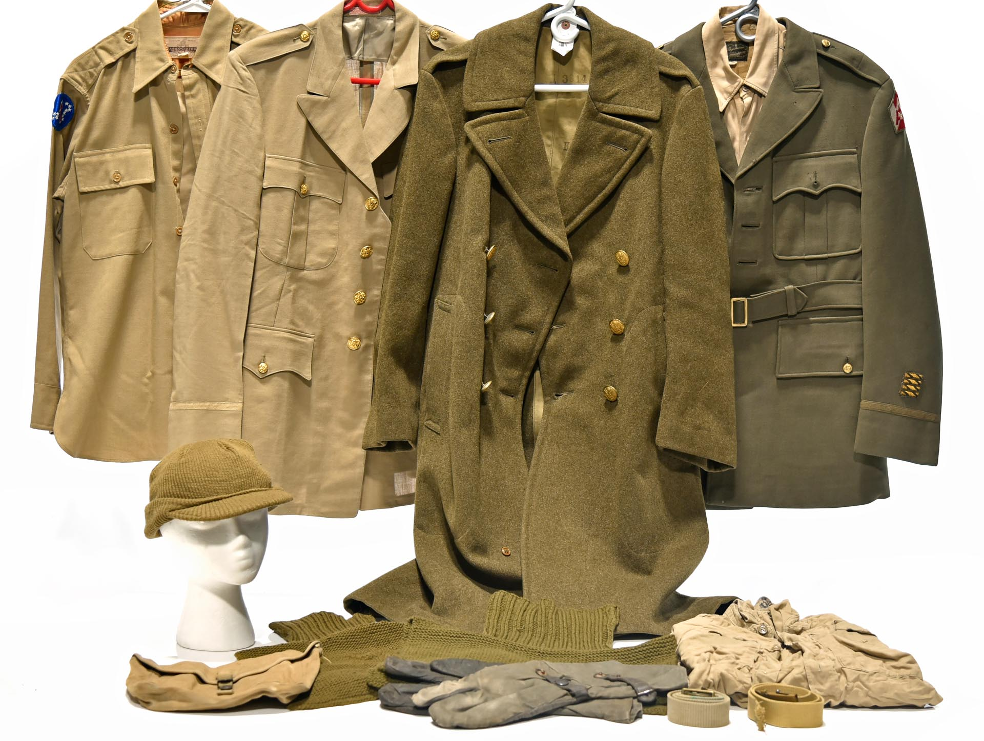 Original U.S. Army Uniforms and Field Kit Collection