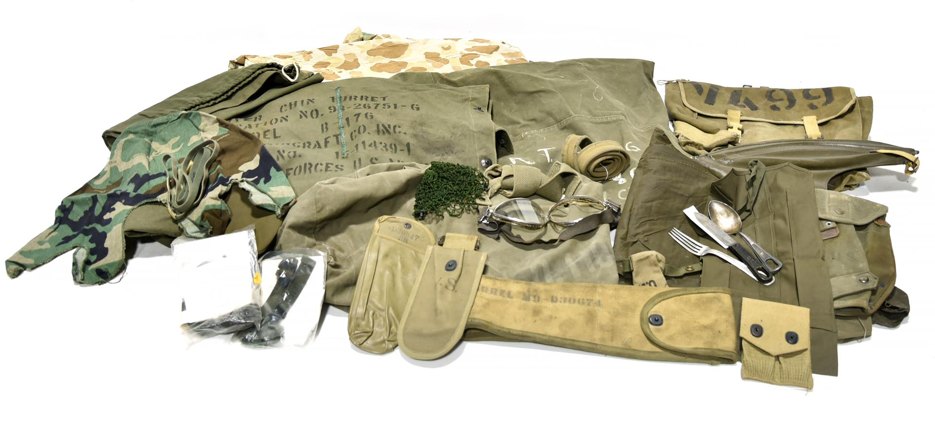 Original U.S. Army Field Equipment Collection