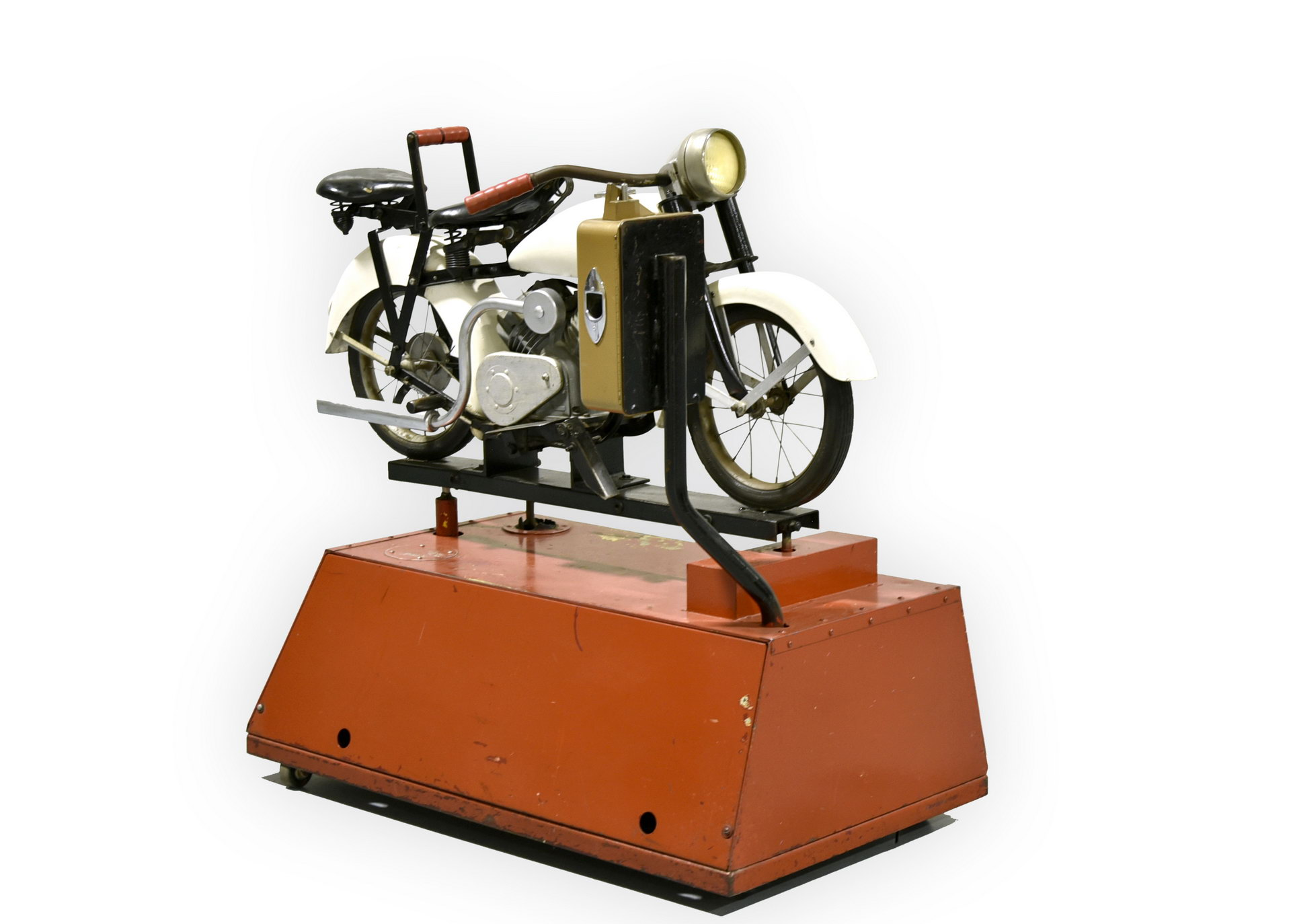 Bally Coin-Operated Child's Ride On Motorcycle : Indian : Harley