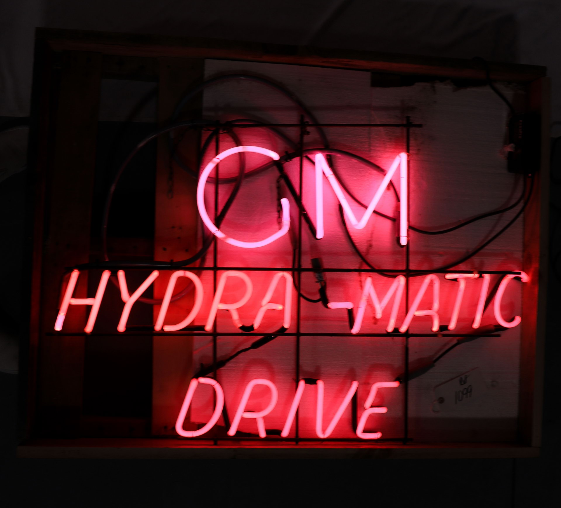 GM Hydra Matic Drive Lighted Neon Sign