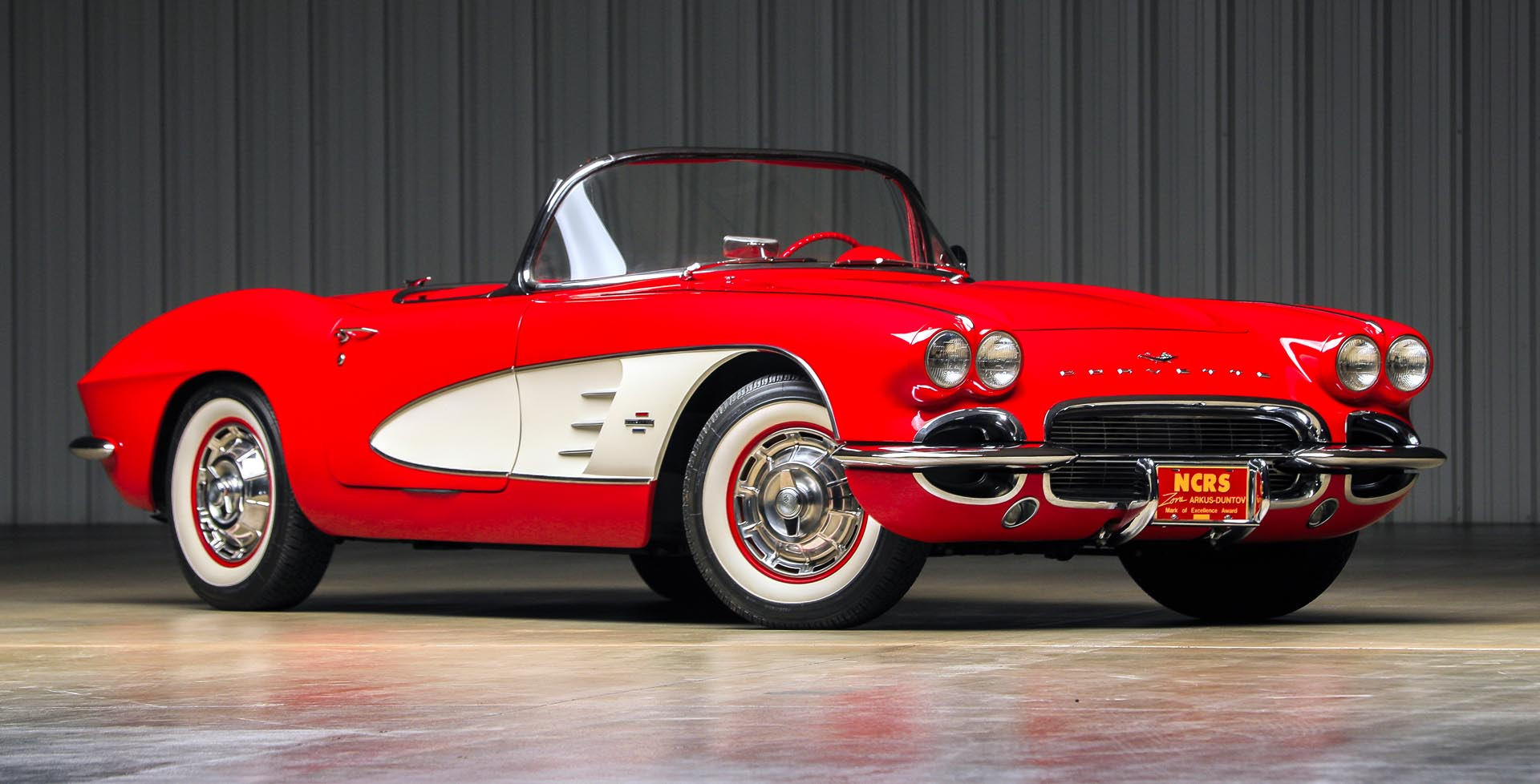 1961 Chevrolet  Corvette 'Dual-Quad' Roadster