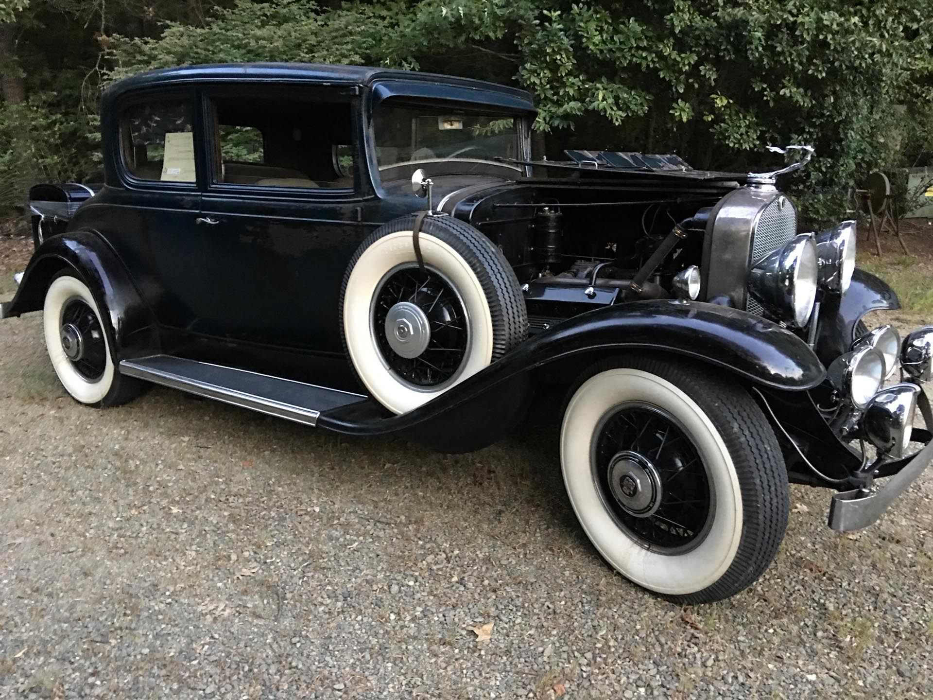 1931 Cadillac  Series 355 Victoria Coupe