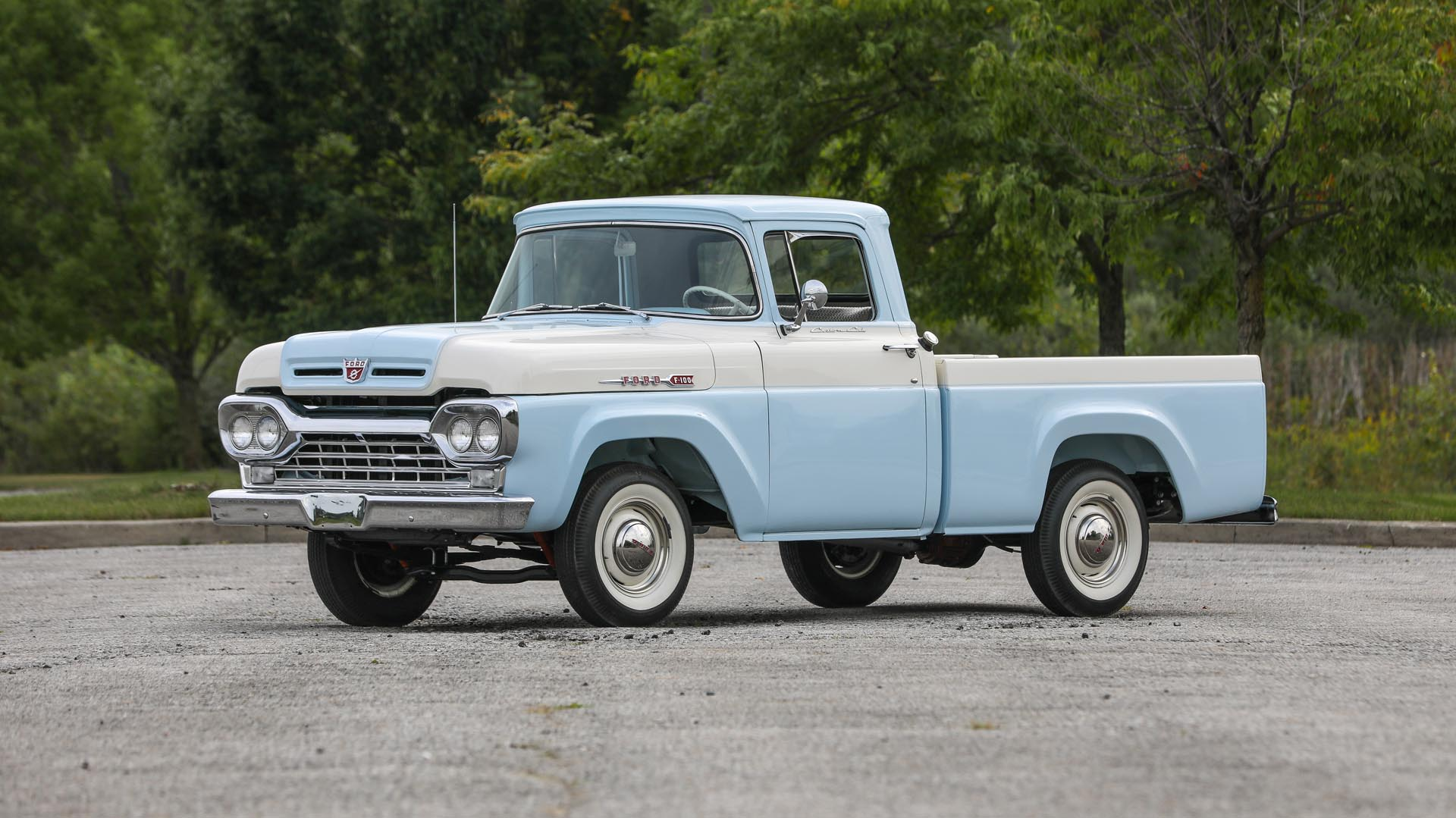 1960 Ford F100 Custom Cab Truck