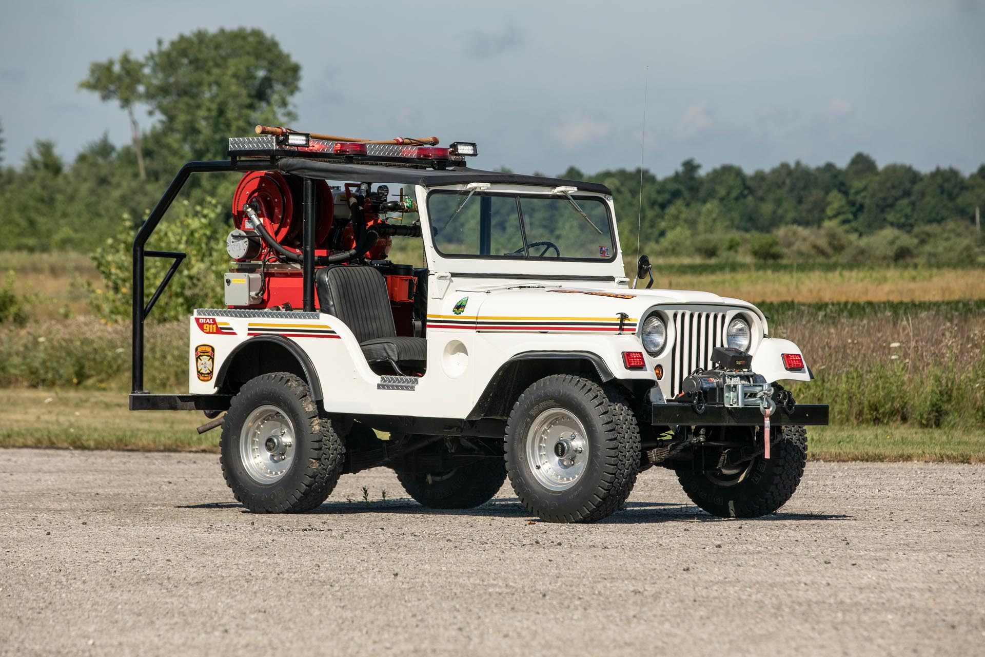 1952 Willys M38A1 Brush Fire Truck