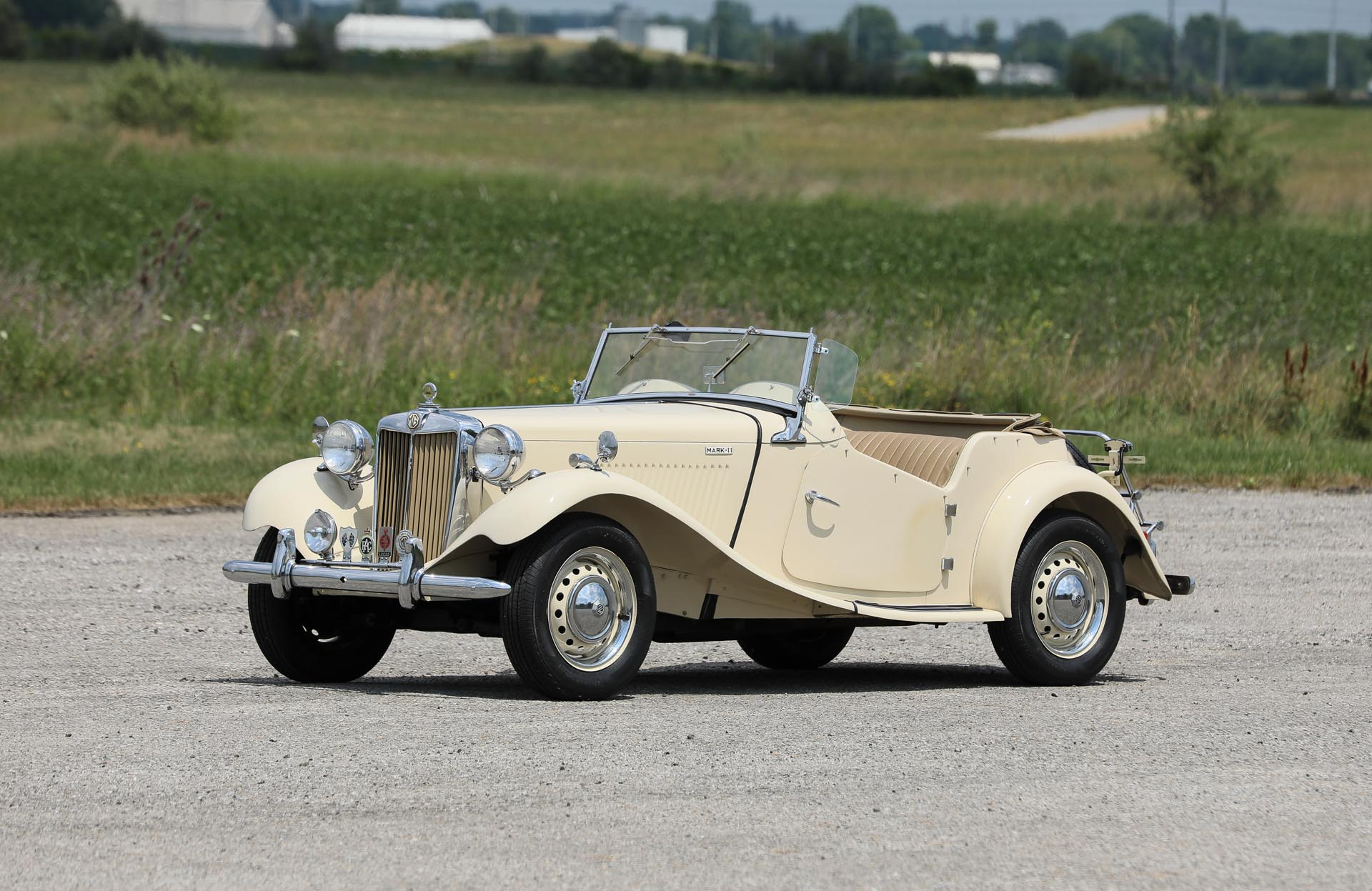 1952 MG TD Mark II Competition Roadster