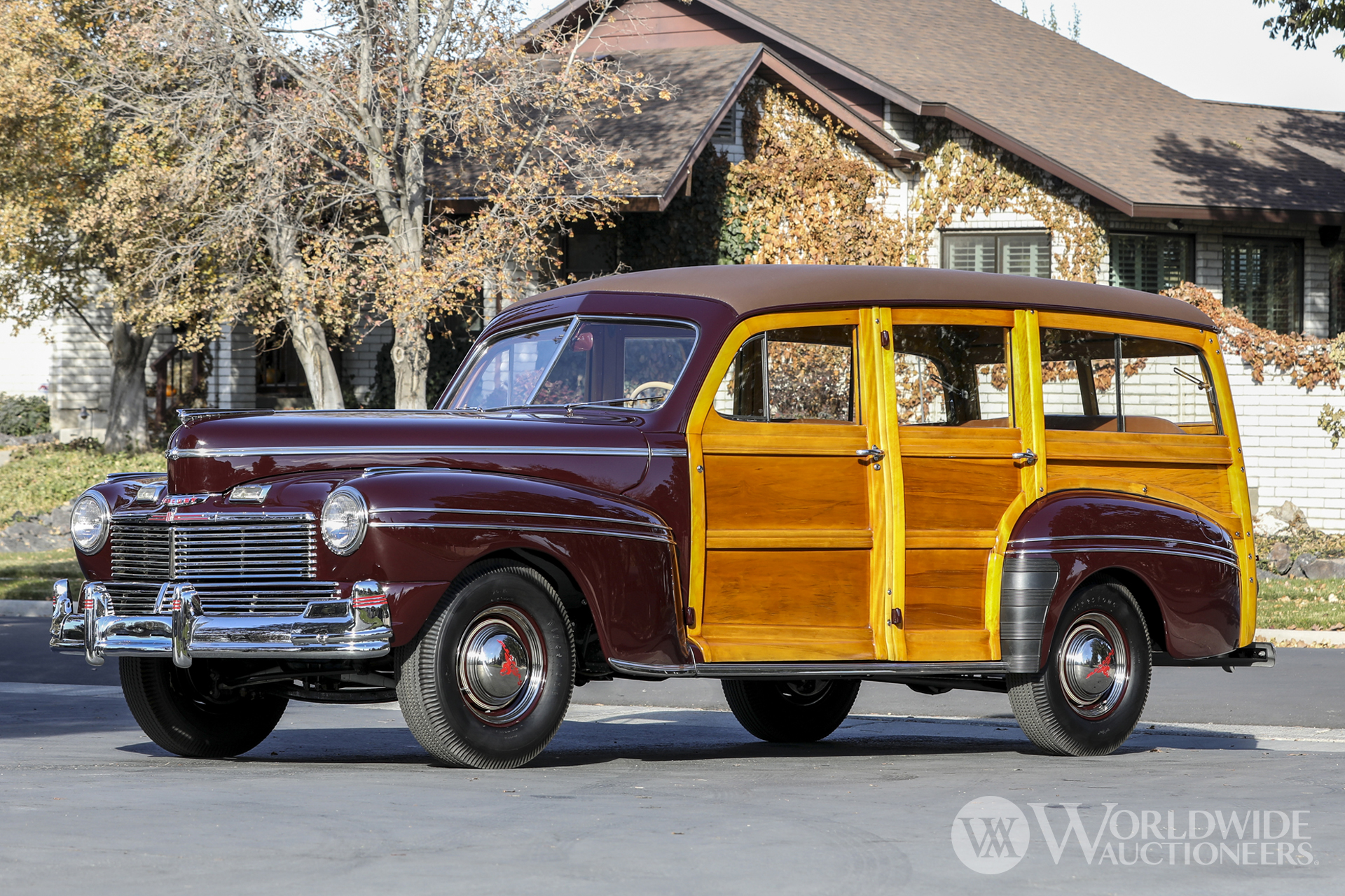 1942 Mercury Model 29A Station Wagon