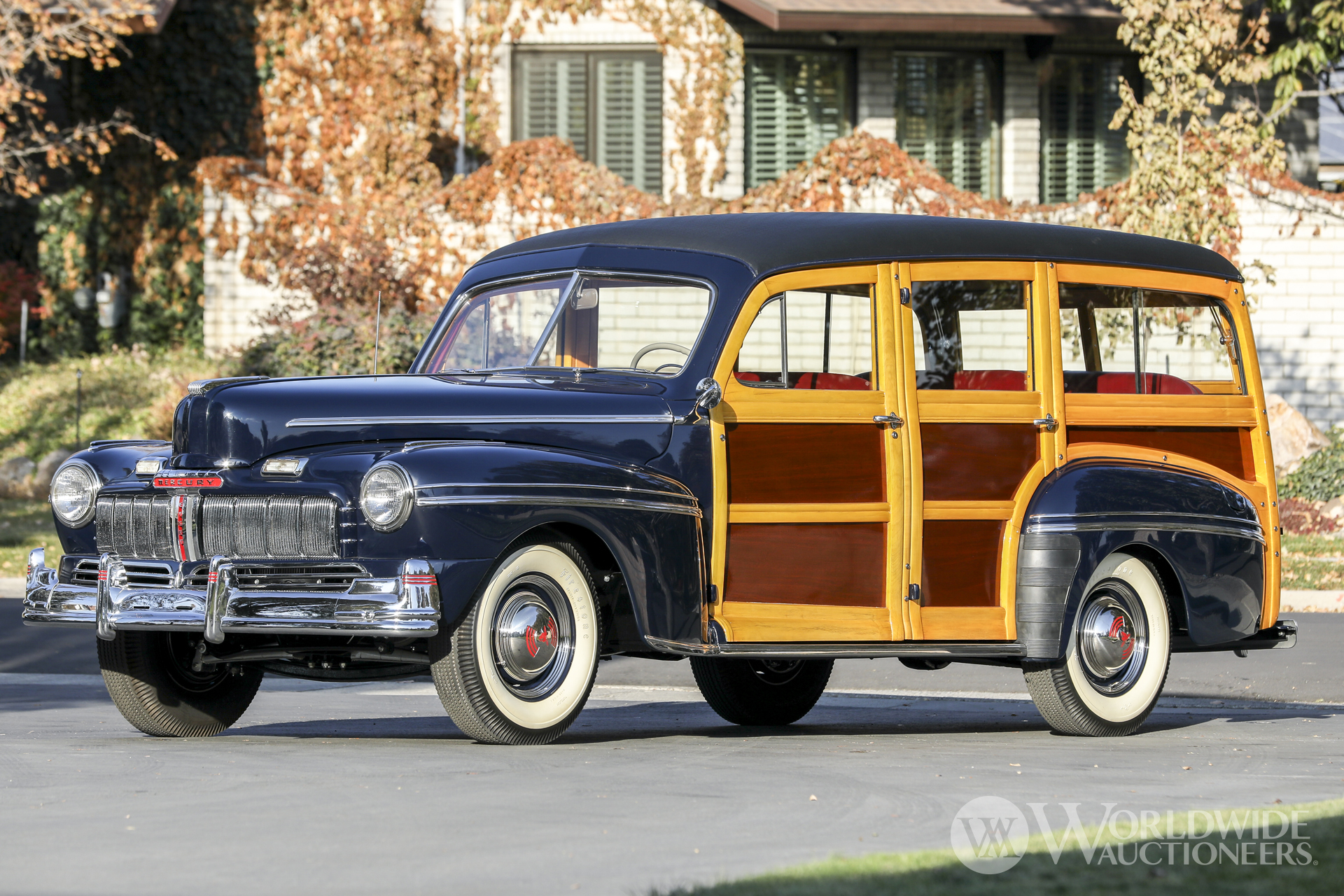 1946 Mercury Series 69M Station Wagon