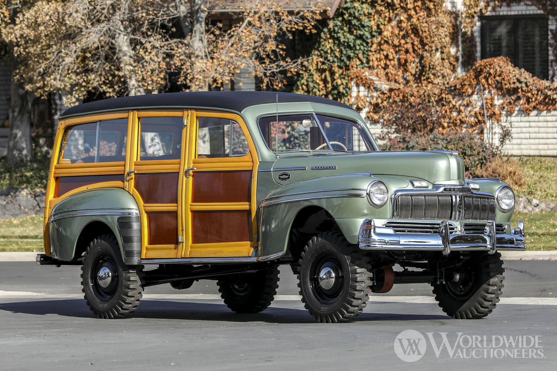 1947 Mercury Series 79M Marmon-Herrington 4x4 Station Wagon