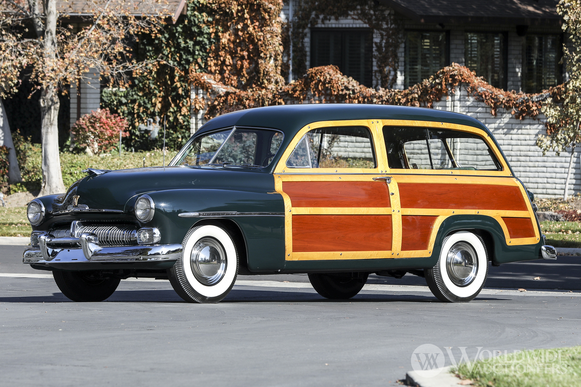 1950 Mercury Series 0CM Station Wagon
