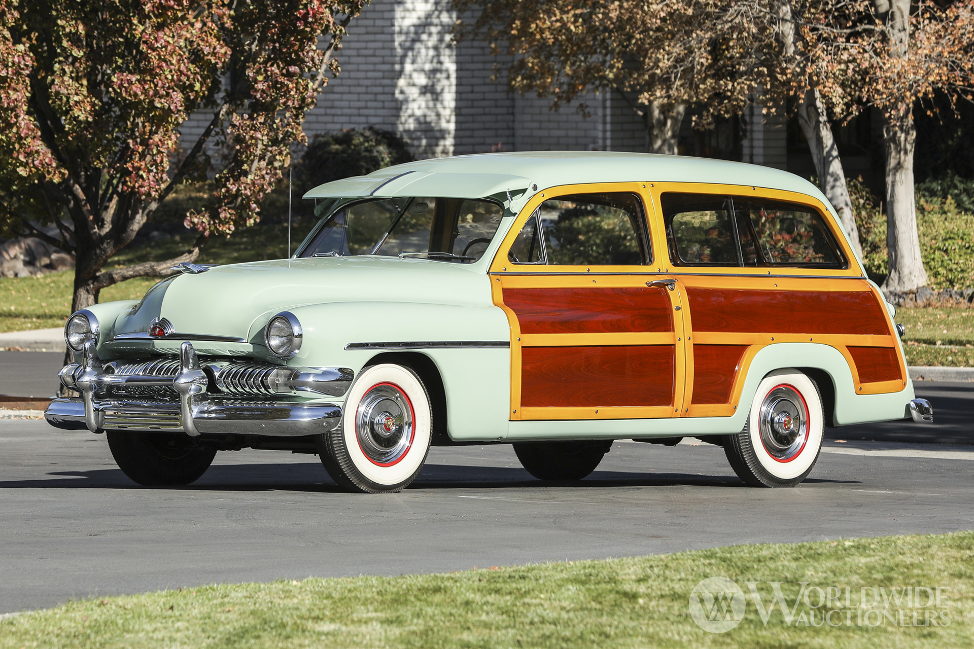 1951 Mercury Series 1CM Station Wagon