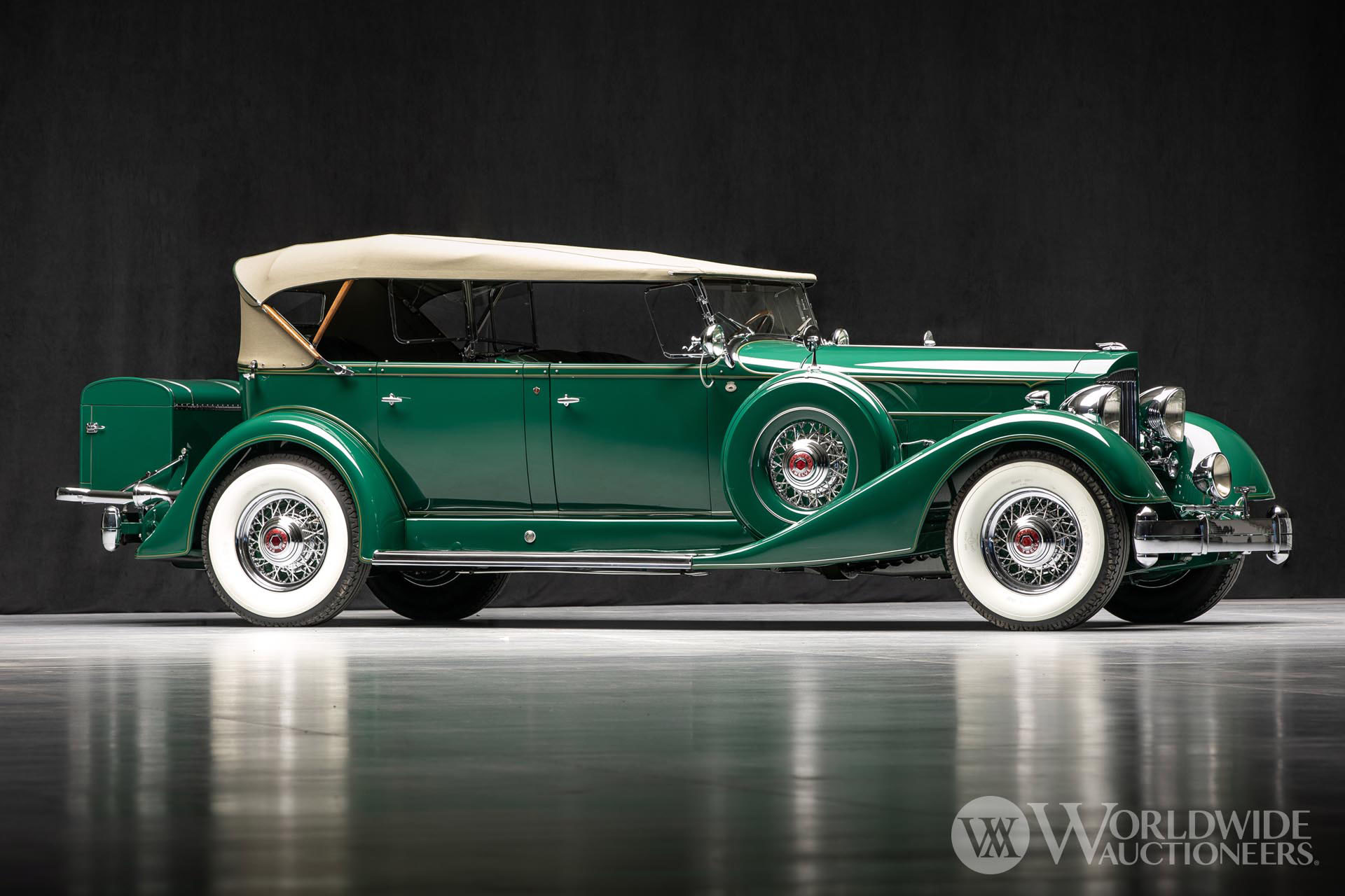 1934 Packard Twelve 1107 Phaeton