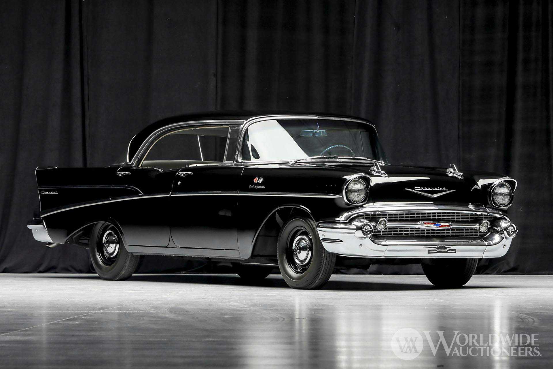 1957 Chevrolet  210 Fuel-Injected Hardtop Sport Sedan