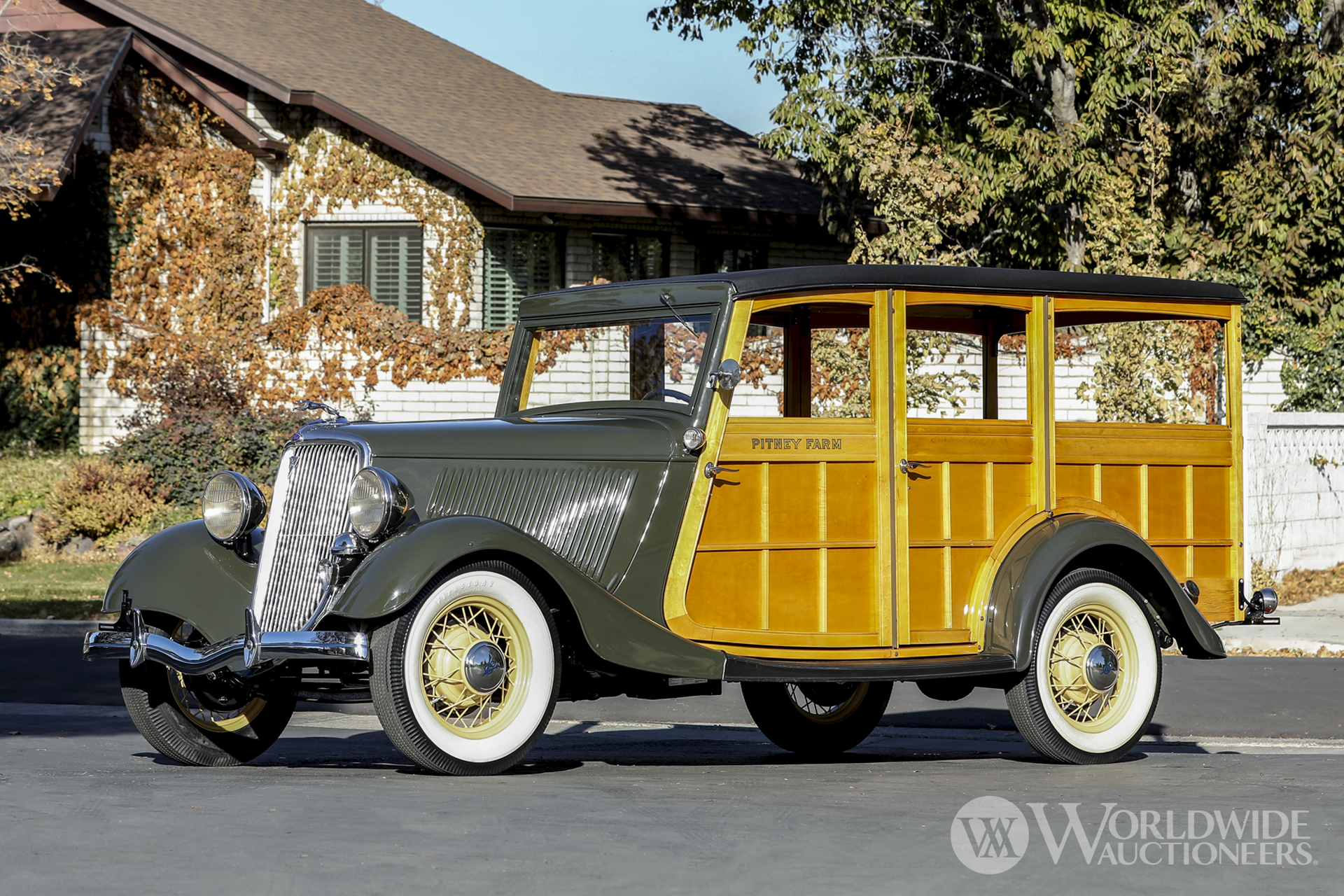 1934 Ford Model 40 Station Wagon