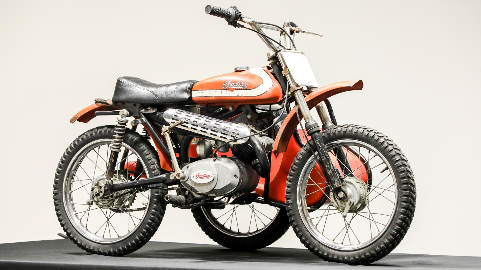Indian SE74 Dirt Bike with Side Car