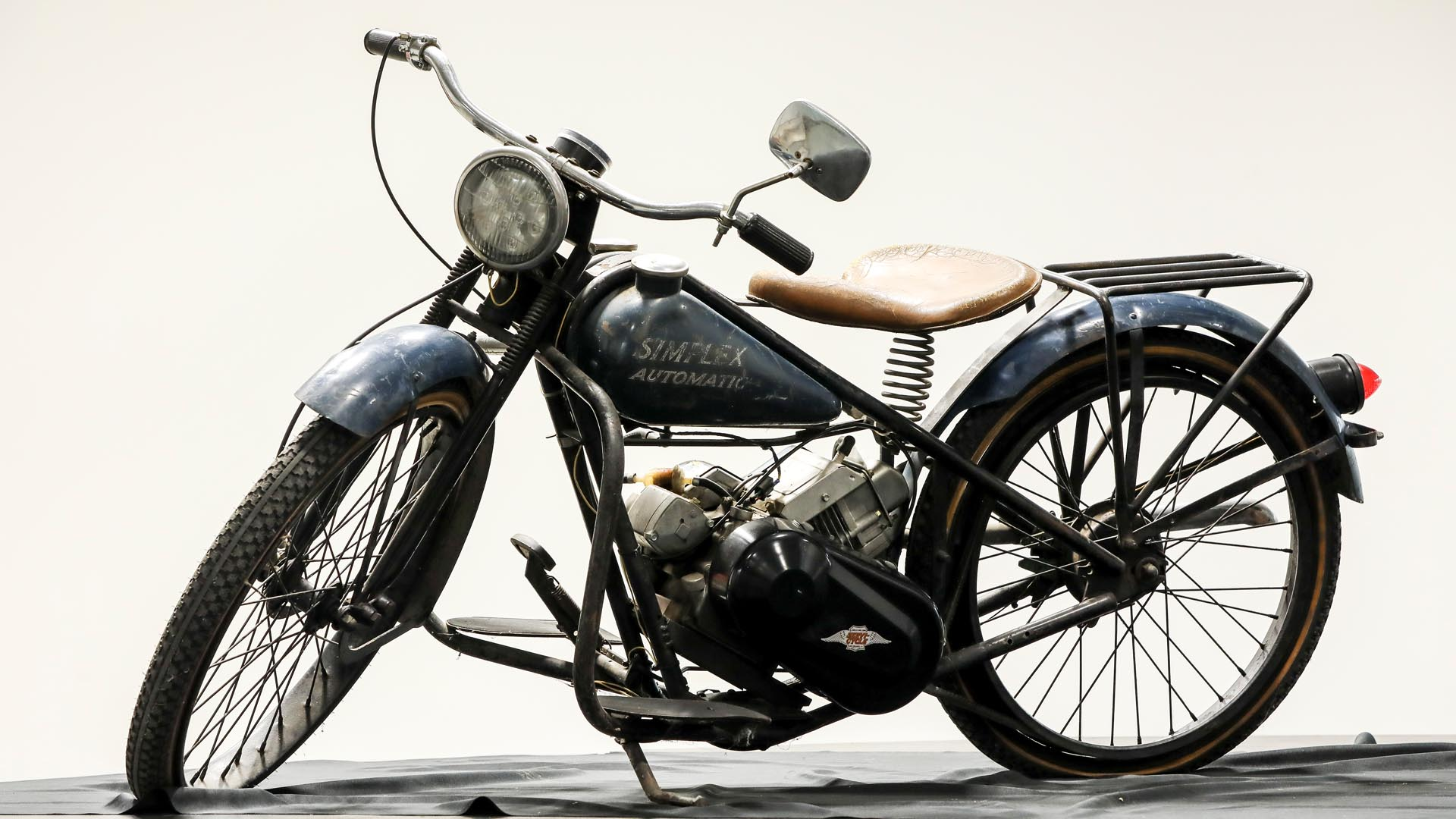Simplex Automatic Motorcycle with Tecumseh Engine