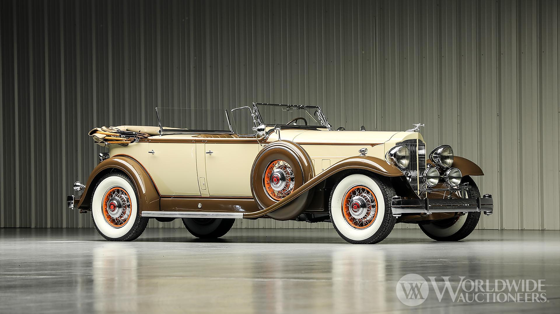 1932 Packard Twin Six 905 Sport Phaeton