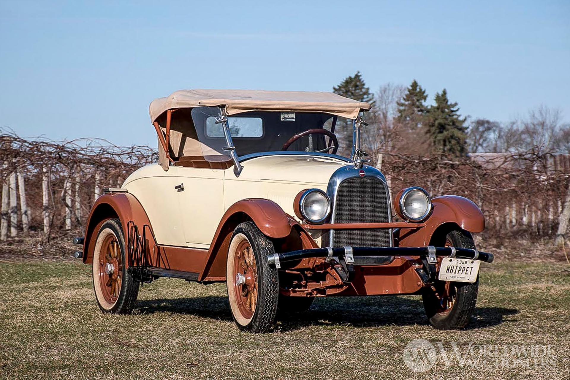 1926 Whippet Model 96 Rumbleseat Roadster