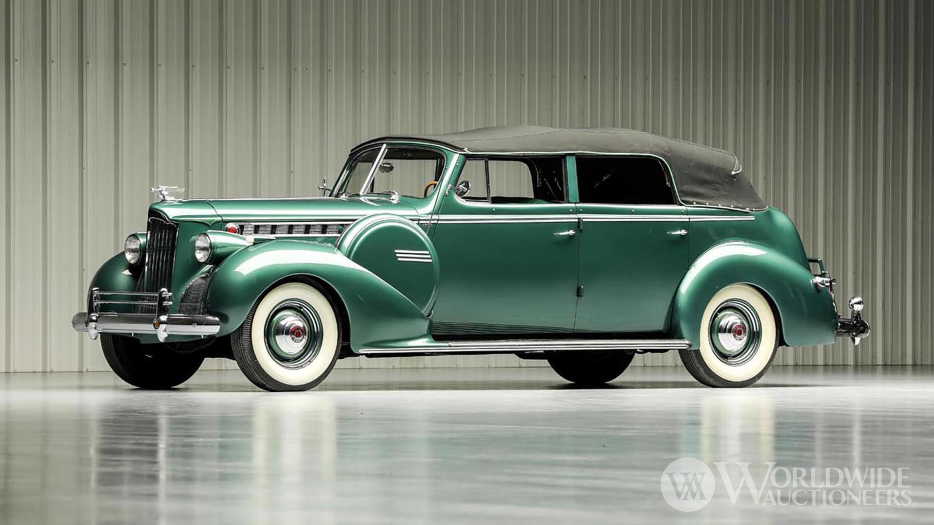 1940 Packard Super 8 Model 1807 Convertible Sedan