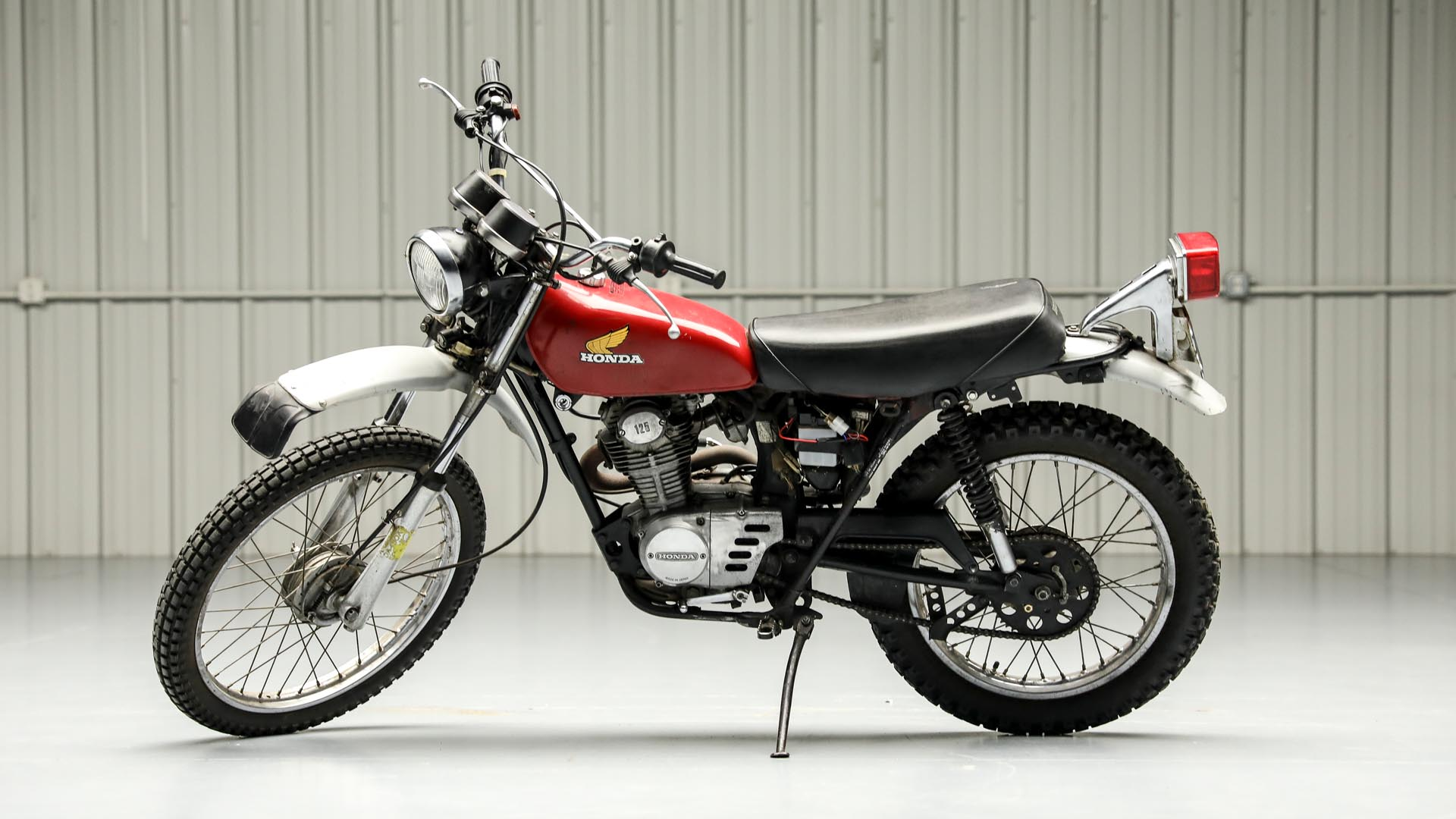 1974 Honda 125XL Dirt Bike