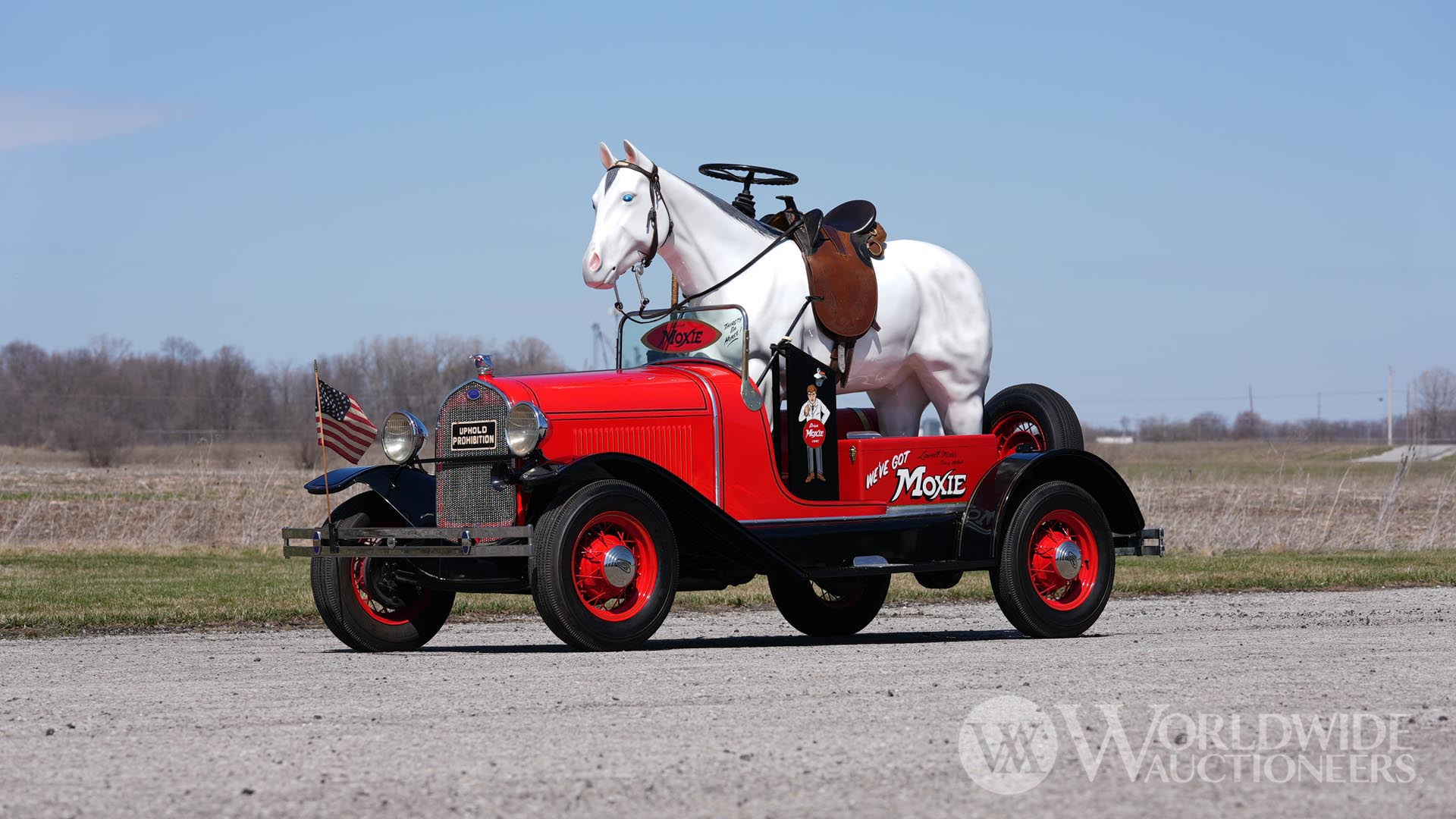 1929 Ford Model A Moxie Horse-Mobile